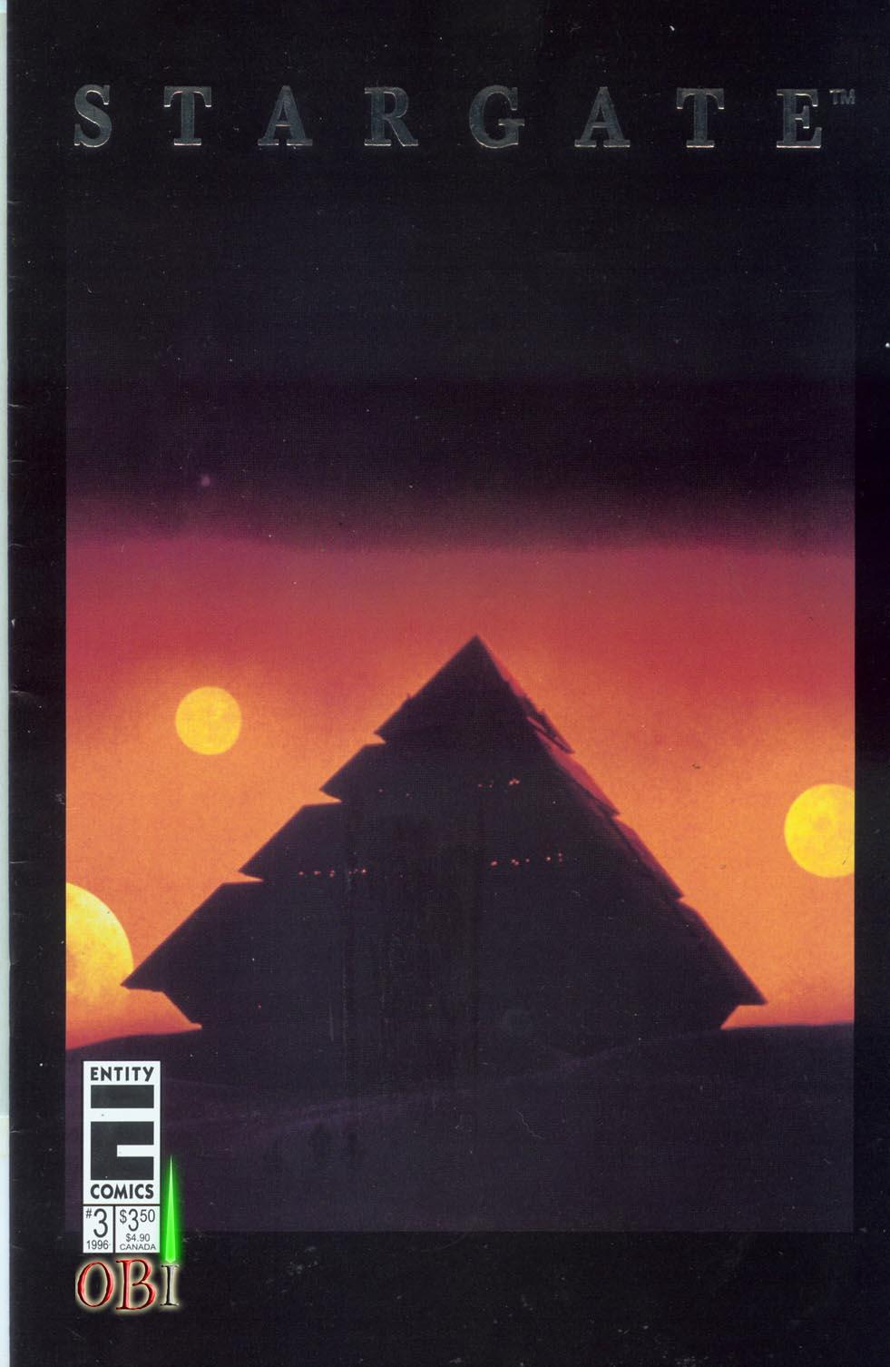 Read online Stargate comic -  Issue #3 - 1