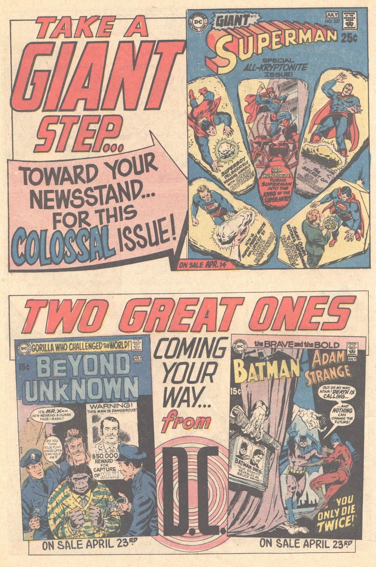 Read online Adventure Comics (1938) comic -  Issue #394 - 32