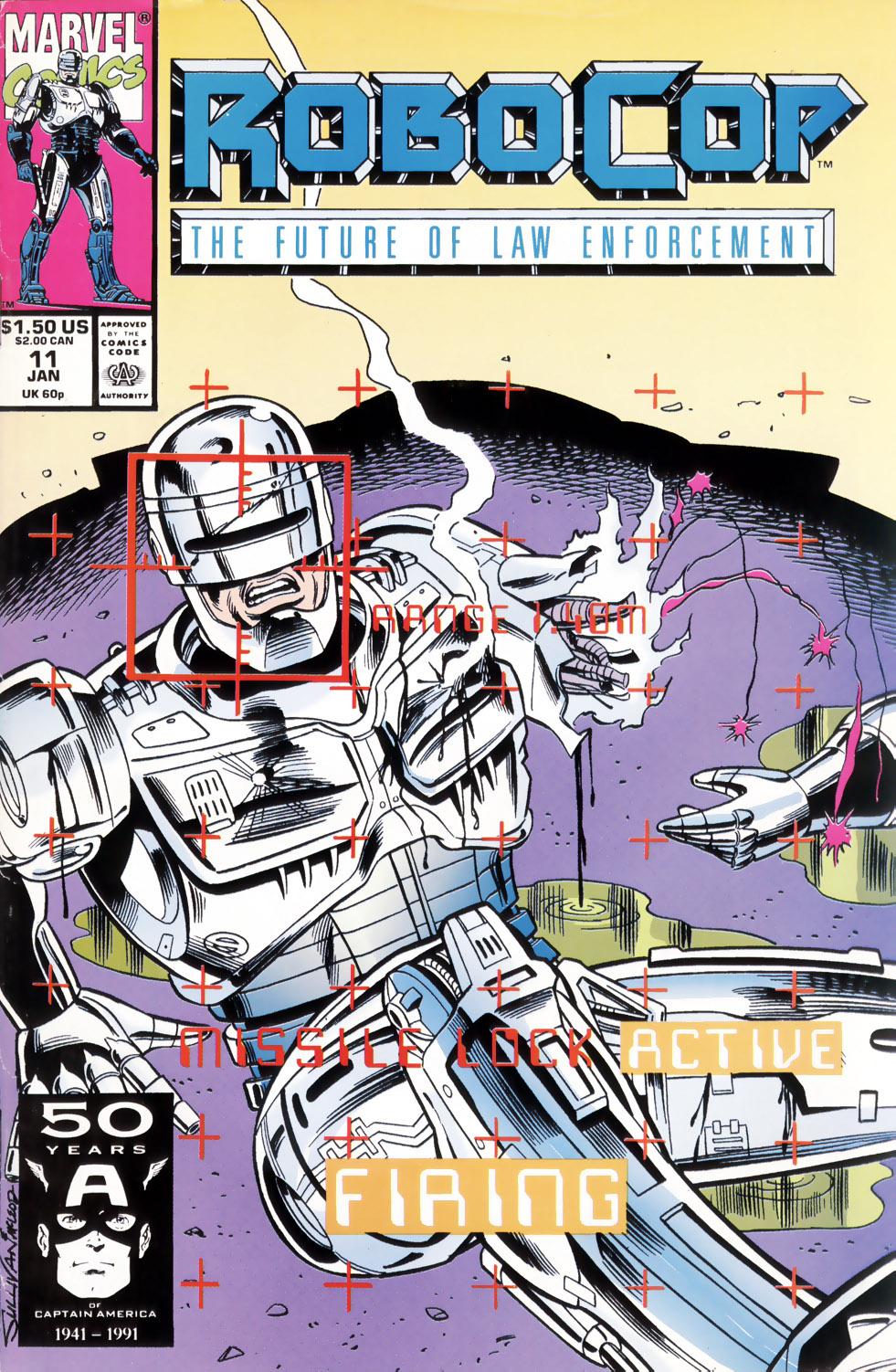 Read online Robocop (1990) comic -  Issue #11 - 1