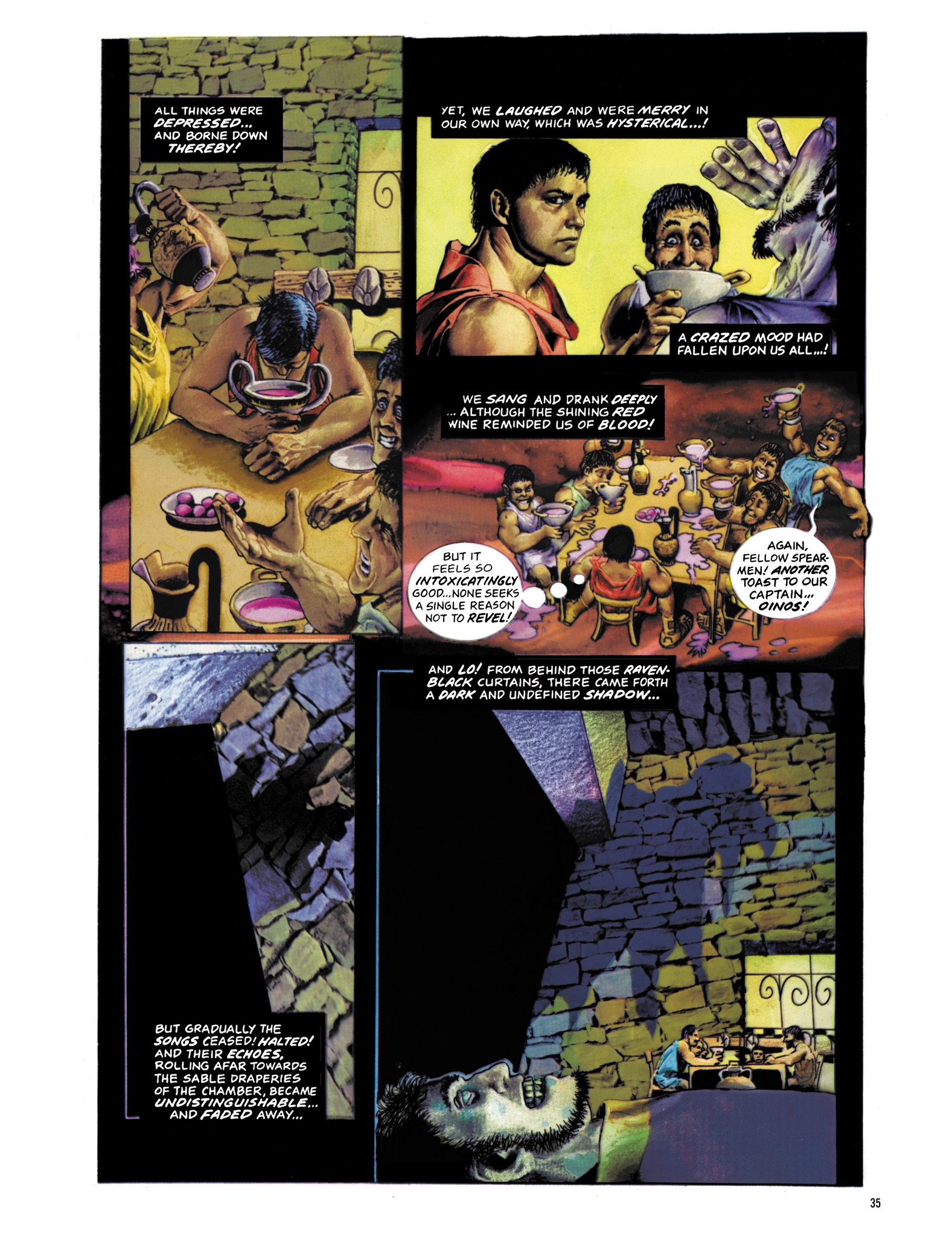 Read online Eerie Archives comic -  Issue # TPB 18 - 36