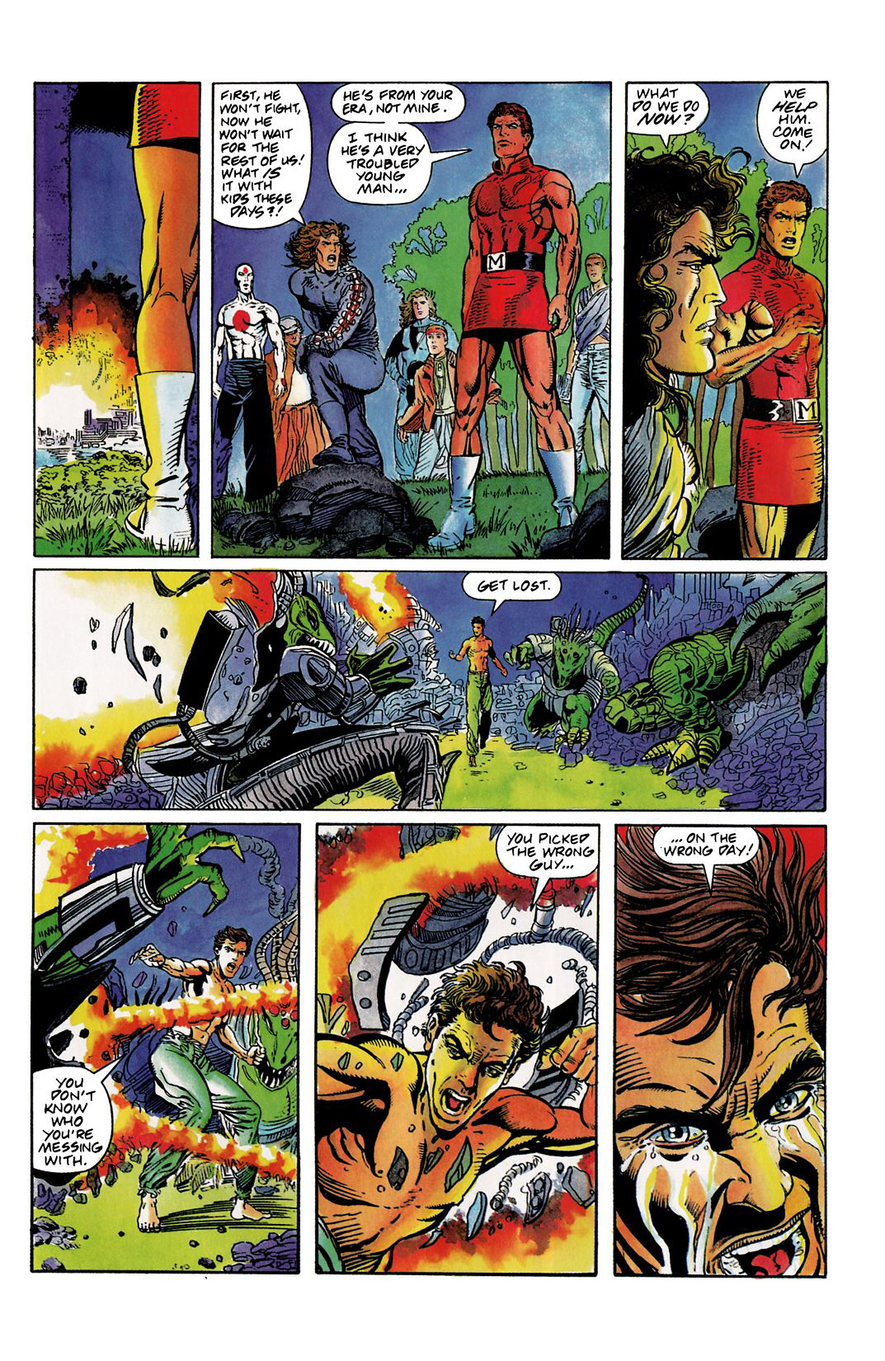 Read online Harbinger (1992) comic -  Issue #8 - 21