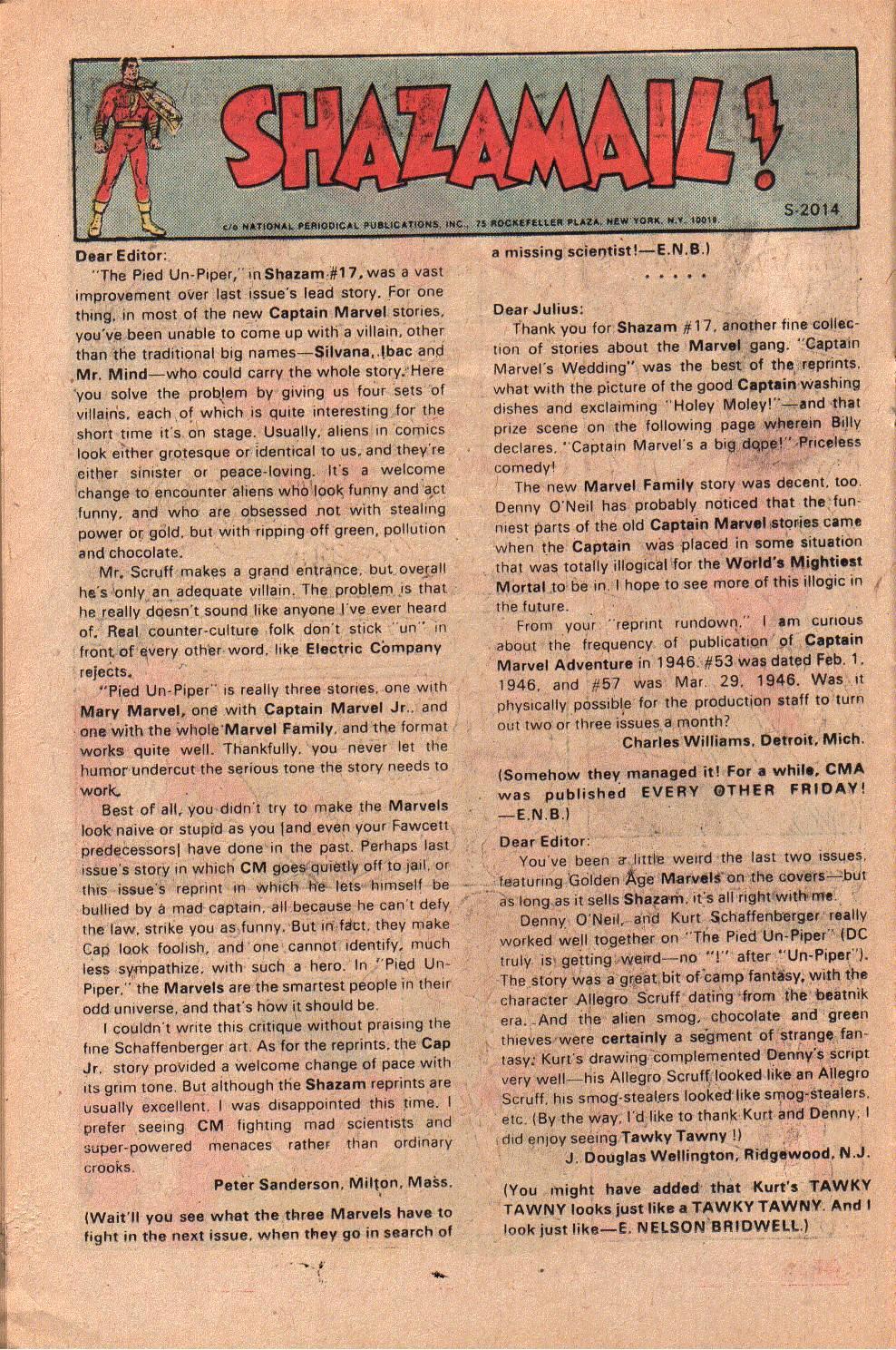 Read online Shazam! (1973) comic -  Issue #19 - 22