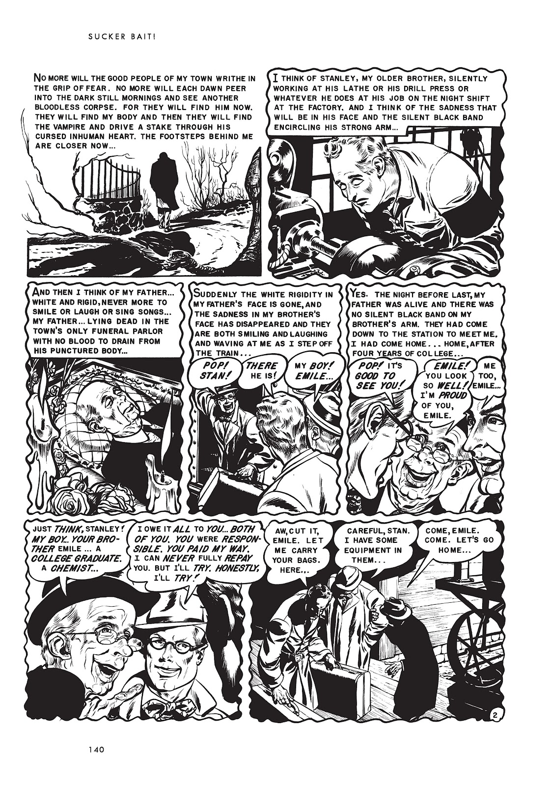 Read online Sucker Bait and Other Stories comic -  Issue # TPB (Part 2) - 55