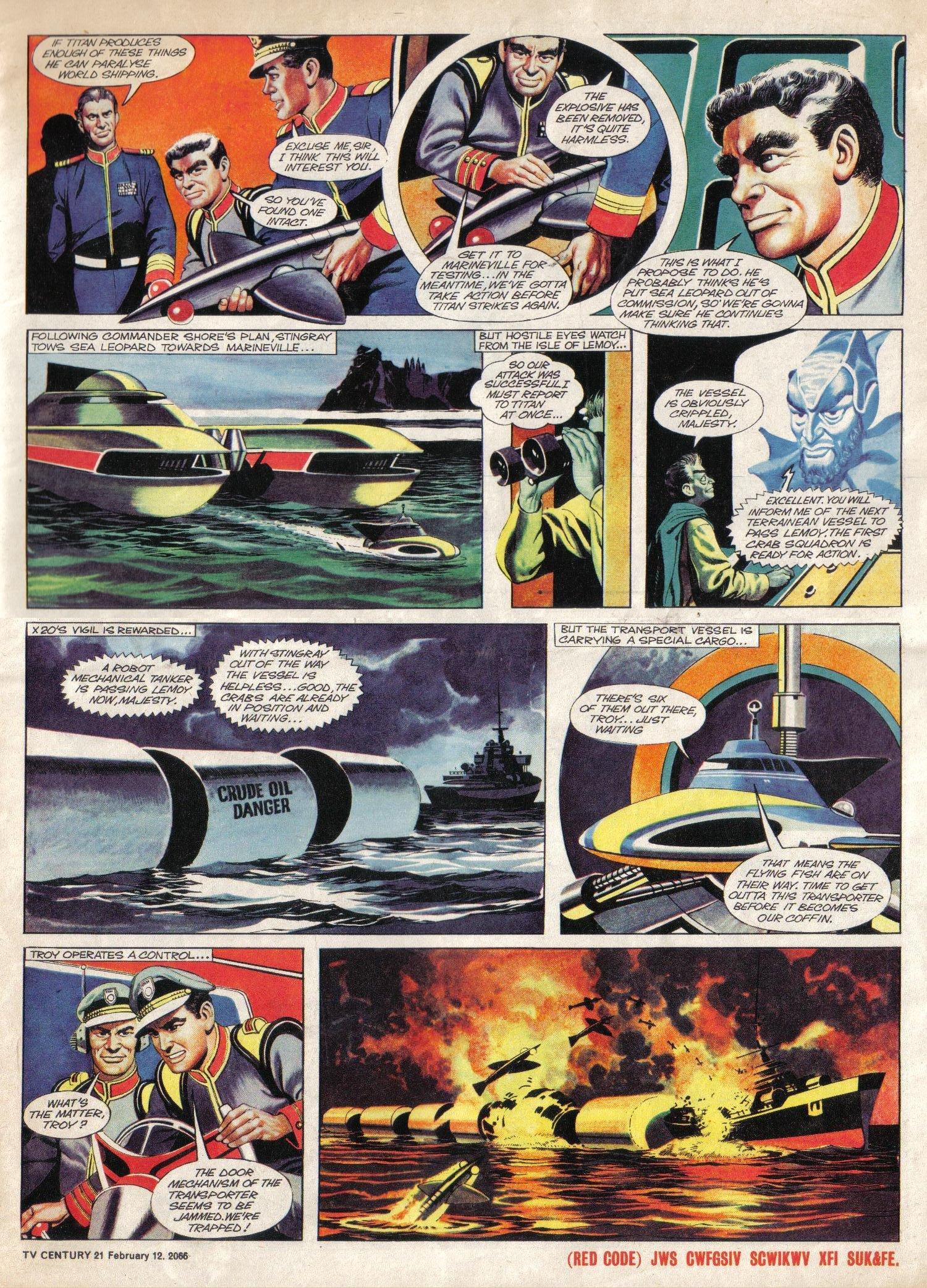 Read online TV Century 21 (TV 21) comic -  Issue #56 - 5