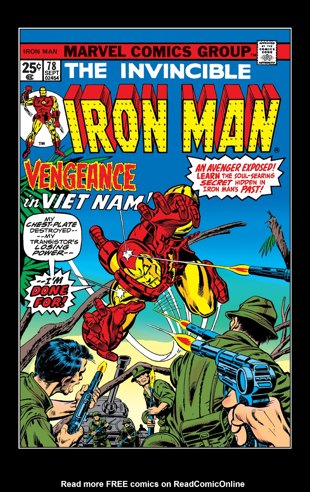 Read online Marvel Masterworks: The Invincible Iron Man comic -  Issue # TPB 10 (Part 2) - 75