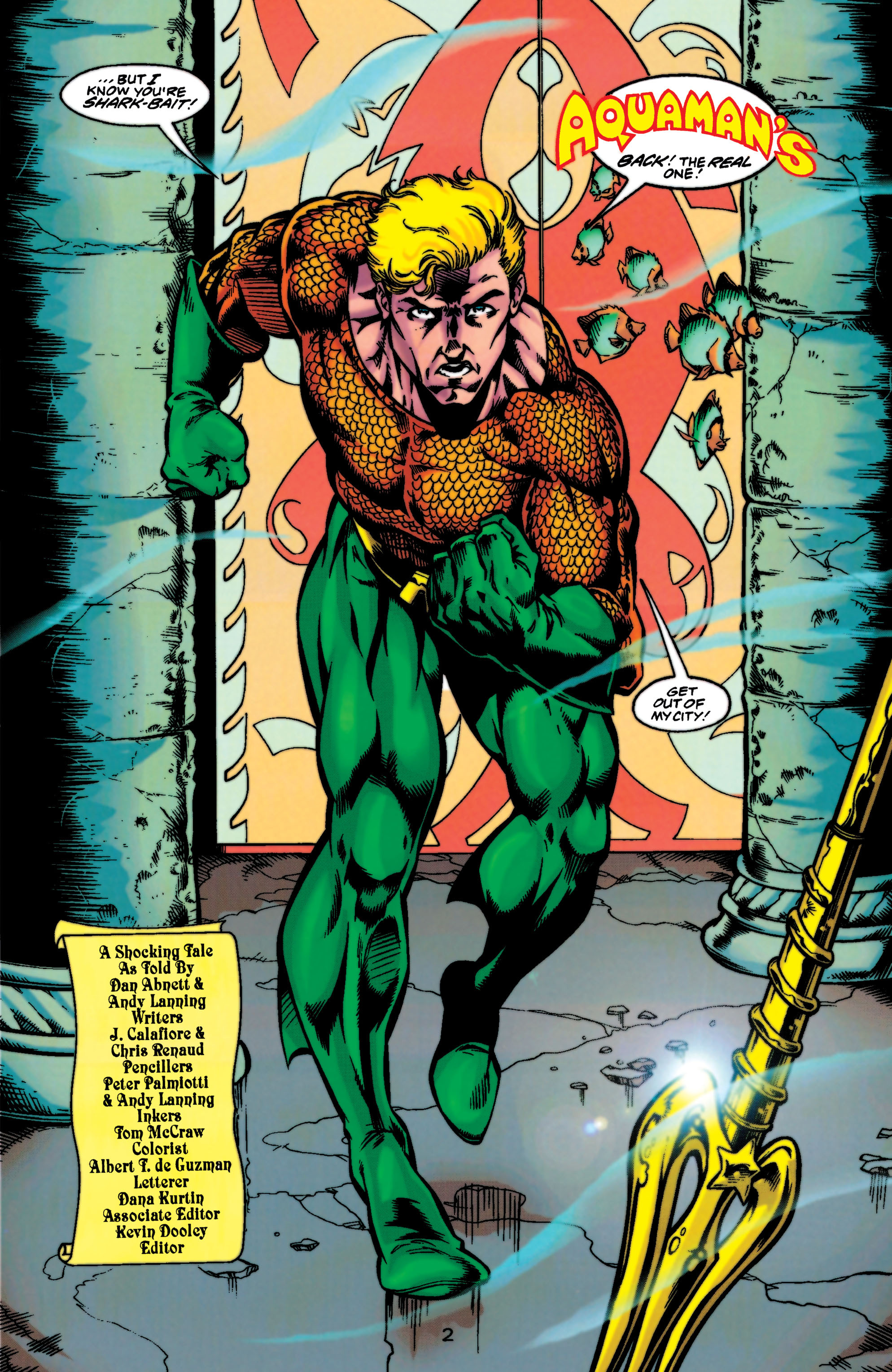 Read online Aquaman (1994) comic -  Issue #47 - 3