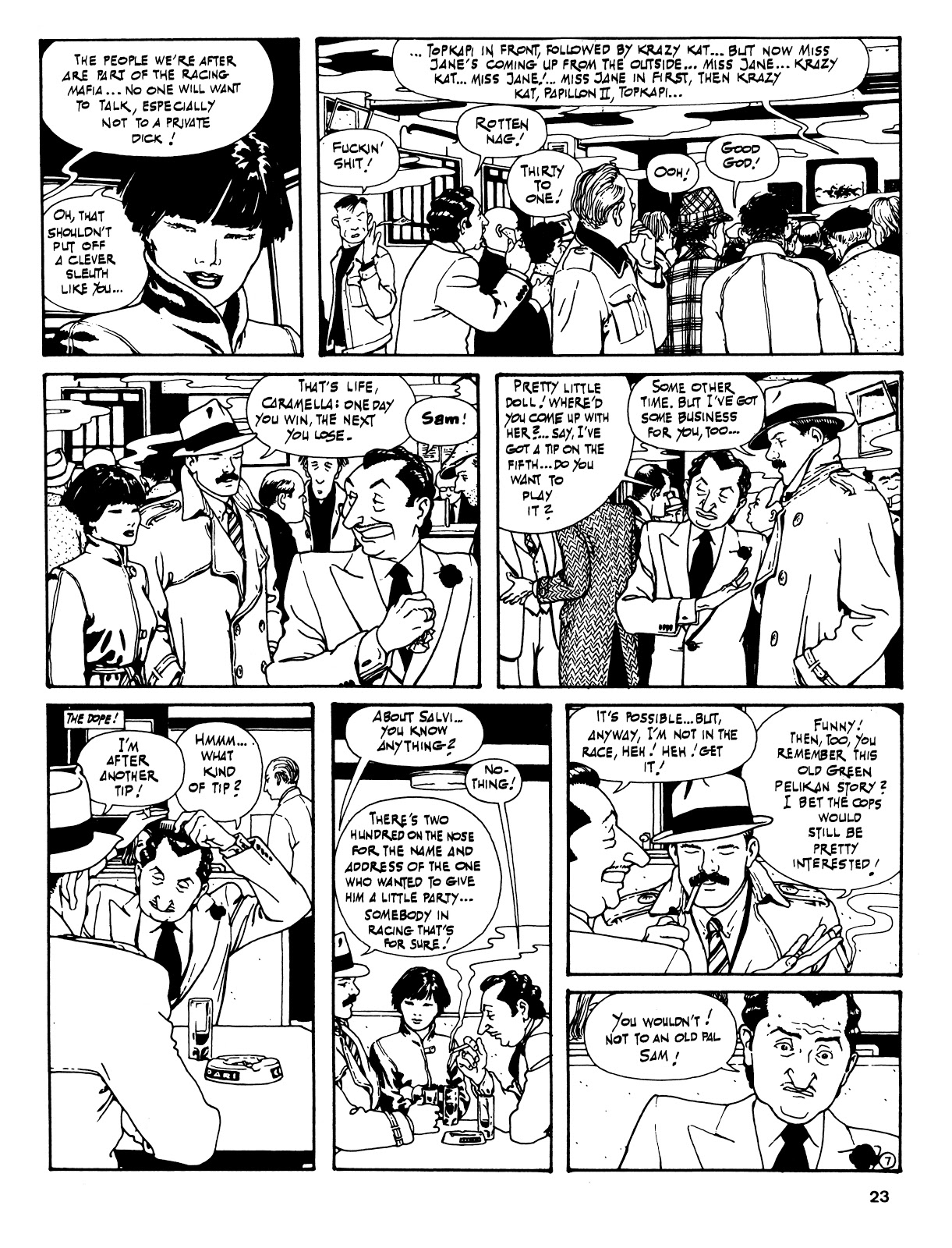 Read online Cases from the Files of Sam Pezzo, P.I. comic -  Issue # Full - 24