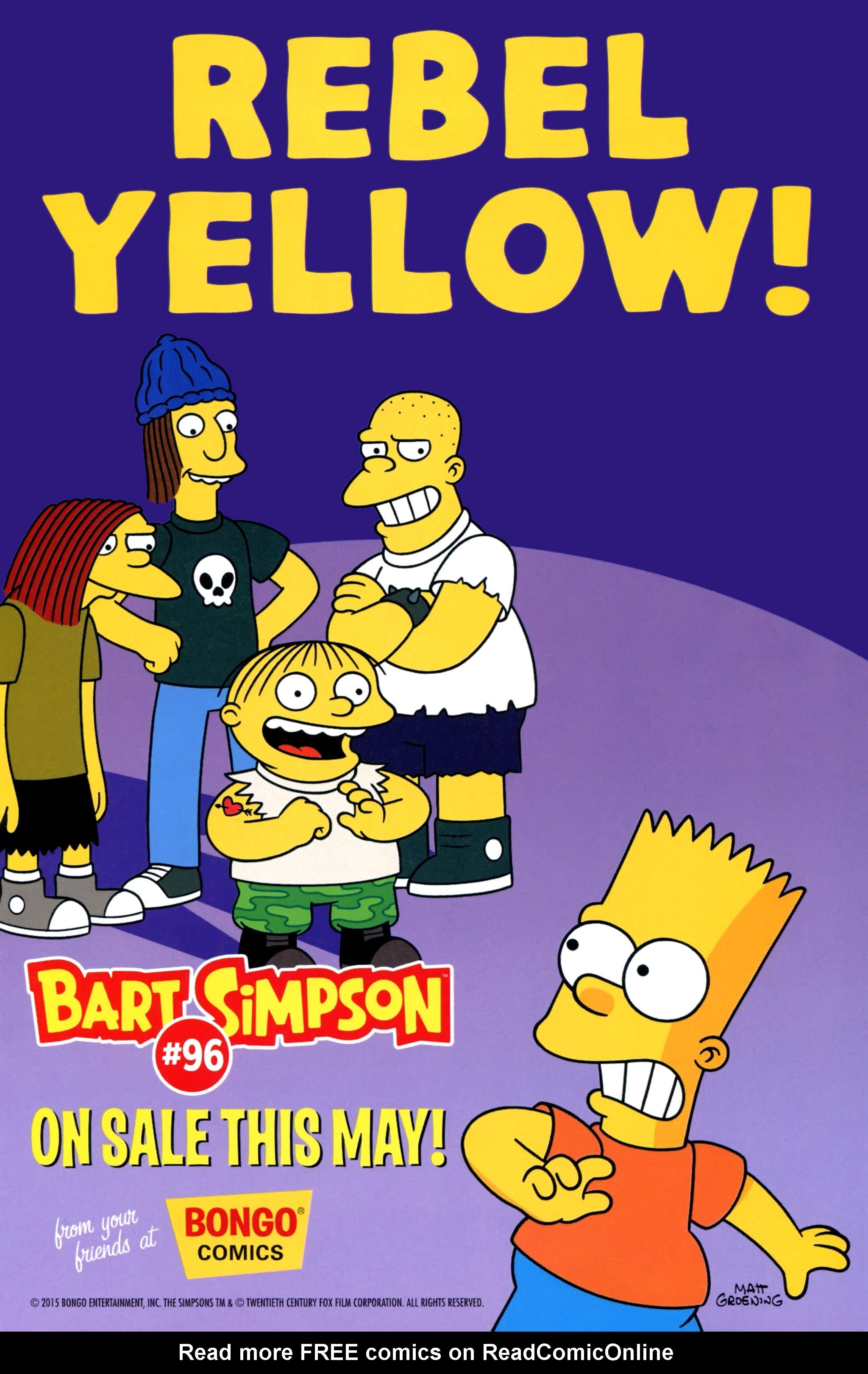 Read online Simpsons Comics comic -  Issue #220 - 13