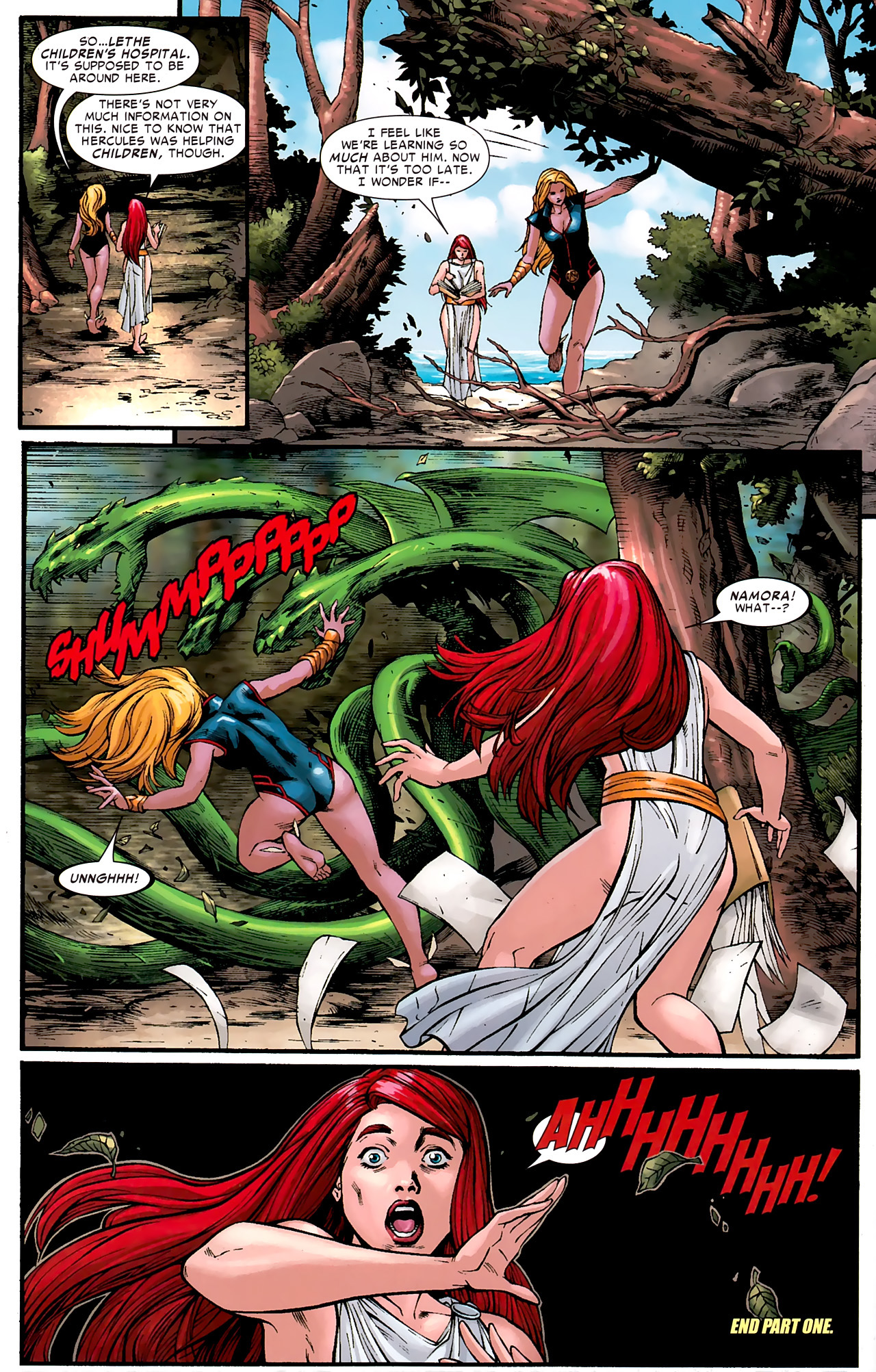 Read online Hercules: Fall of an Avenger comic -  Issue #1 - 31