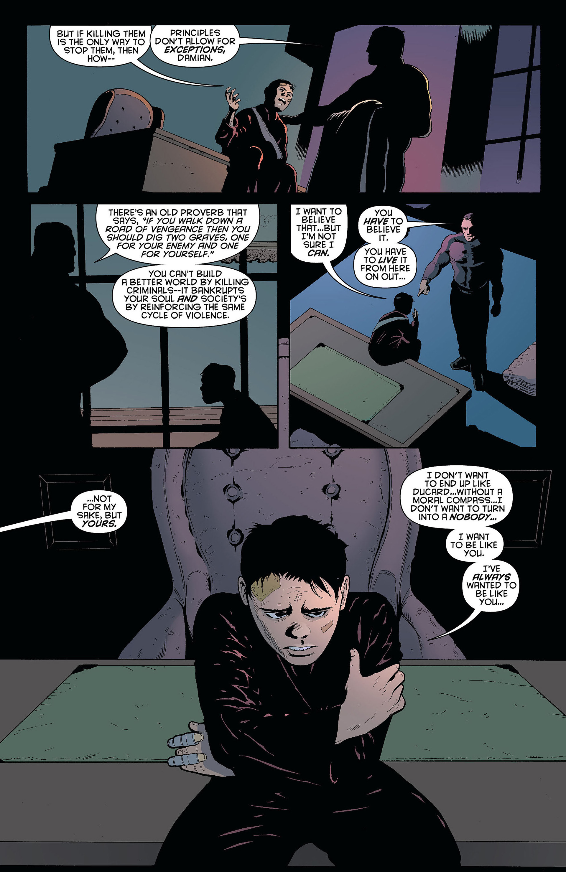 Read online Batman and Robin (2011) comic -  Issue #8 - 15