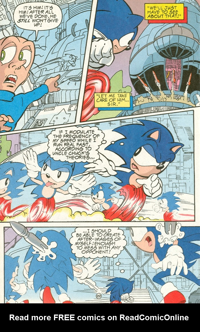 Read online Sonic Super Special comic -  Issue #6 - The big 50 - 23