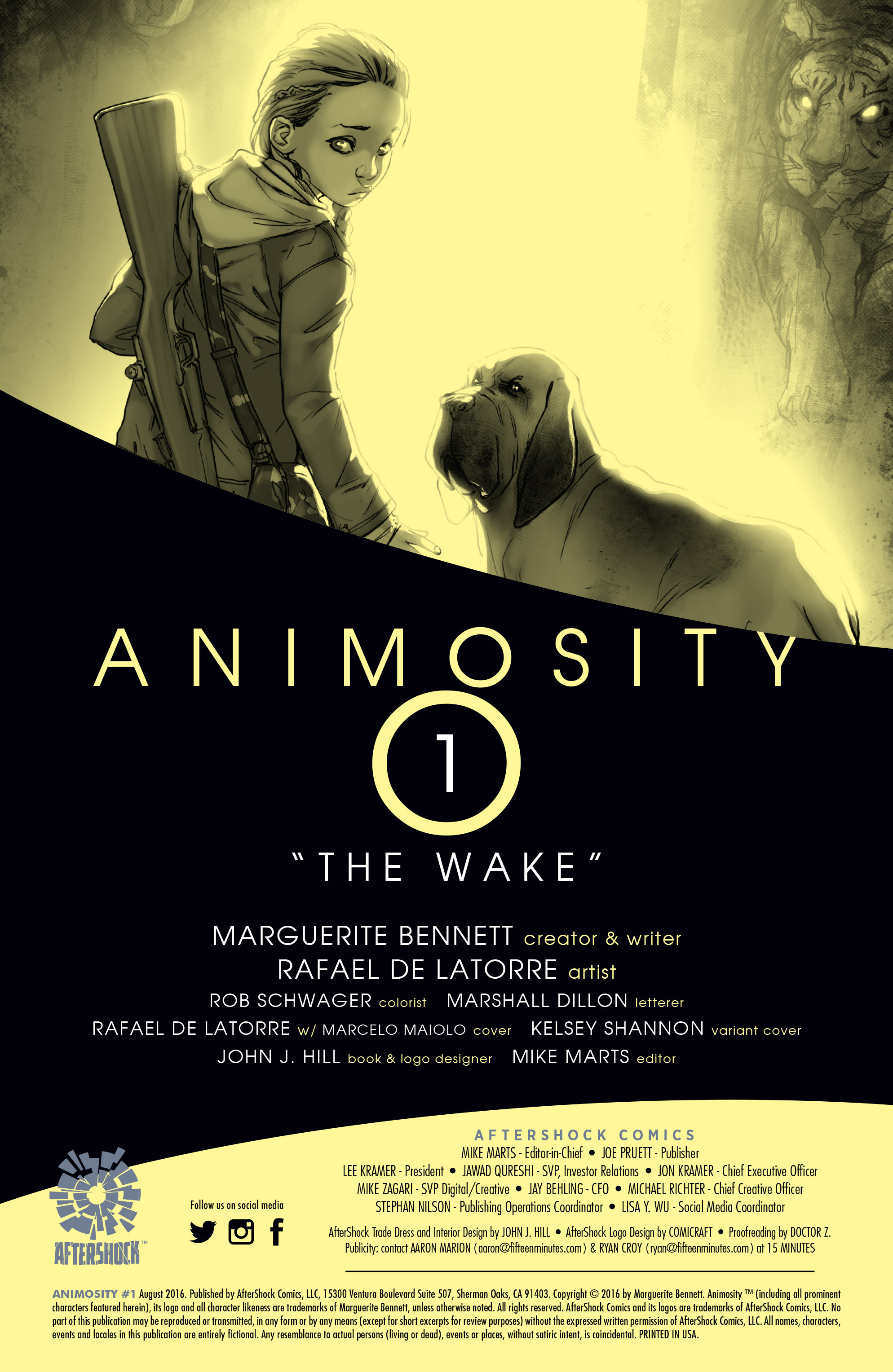 Read online Animosity comic -  Issue #1 - 2