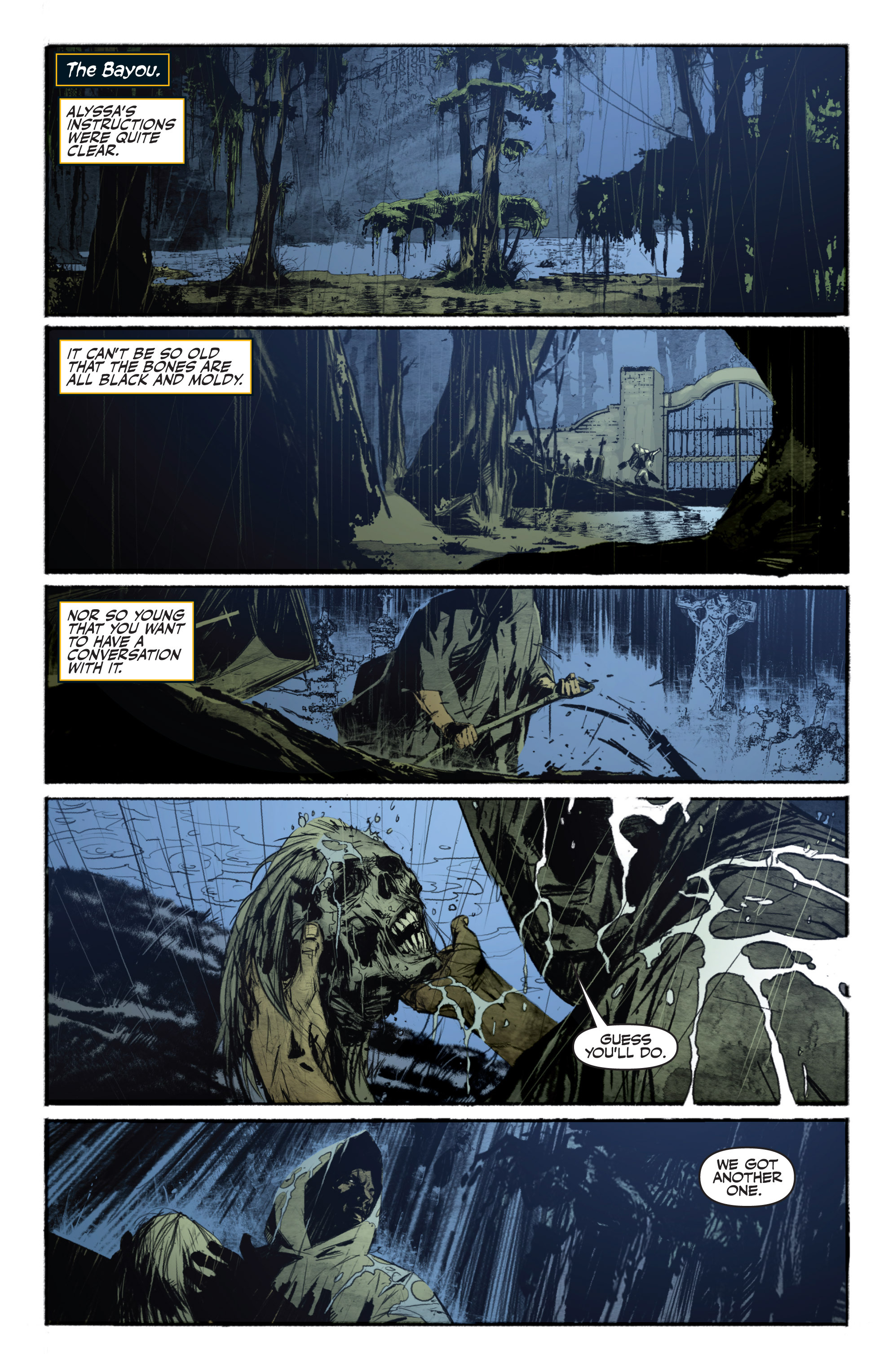Read online Shadowman (2012) comic -  Issue #13 - 9