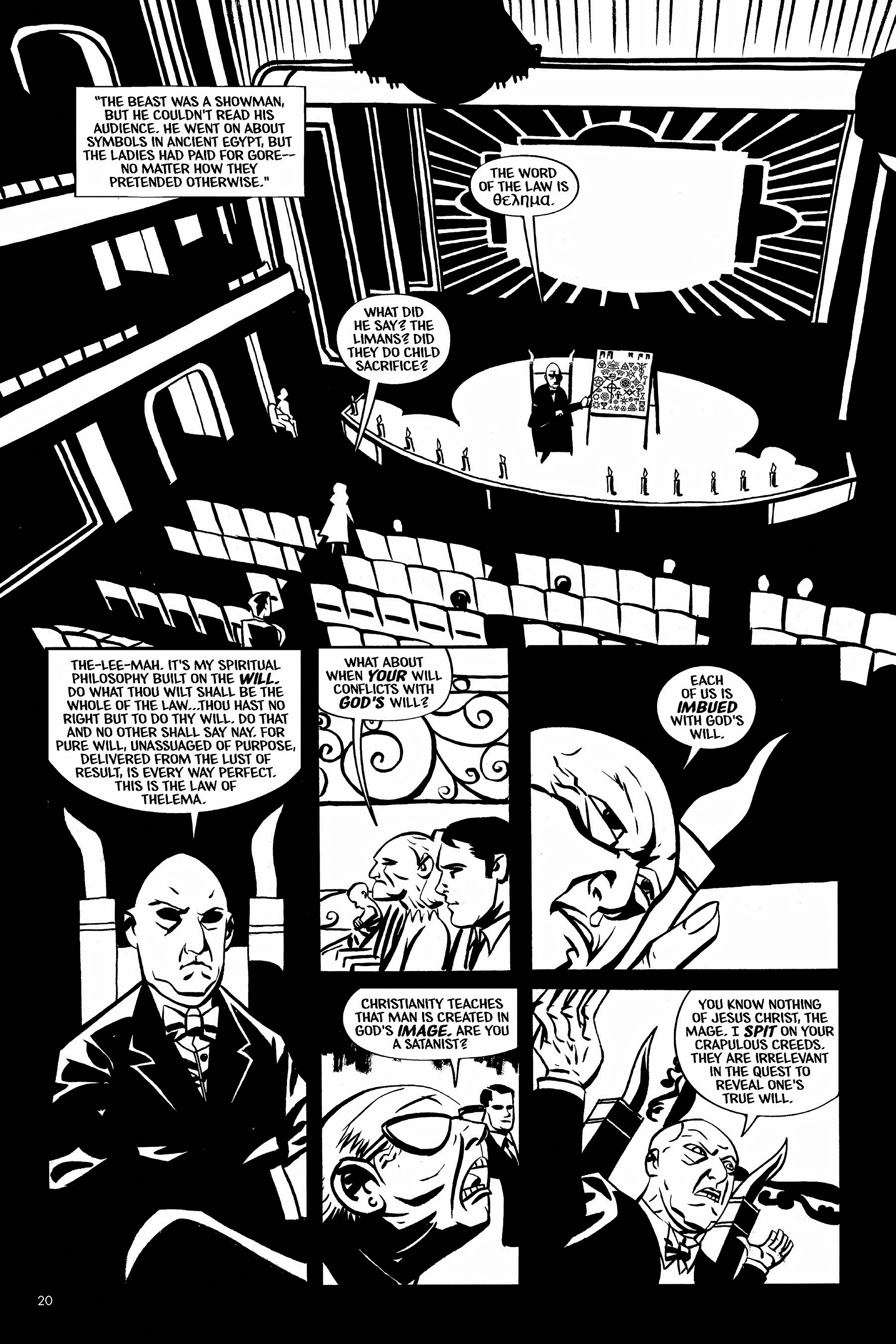 Read online Aleister & Adolf comic -  Issue # TPB - 20