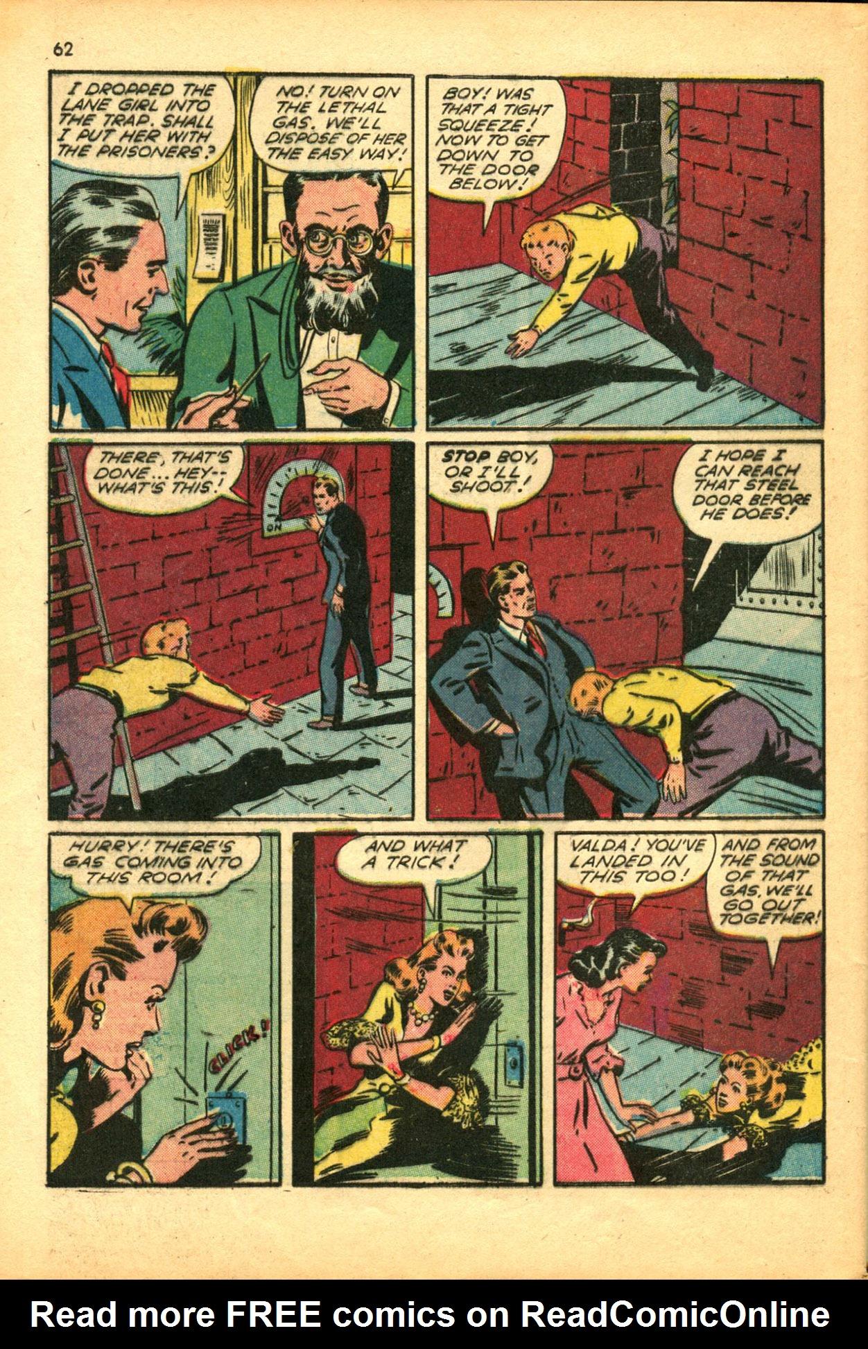 Read online Shadow Comics comic -  Issue #30 - 62