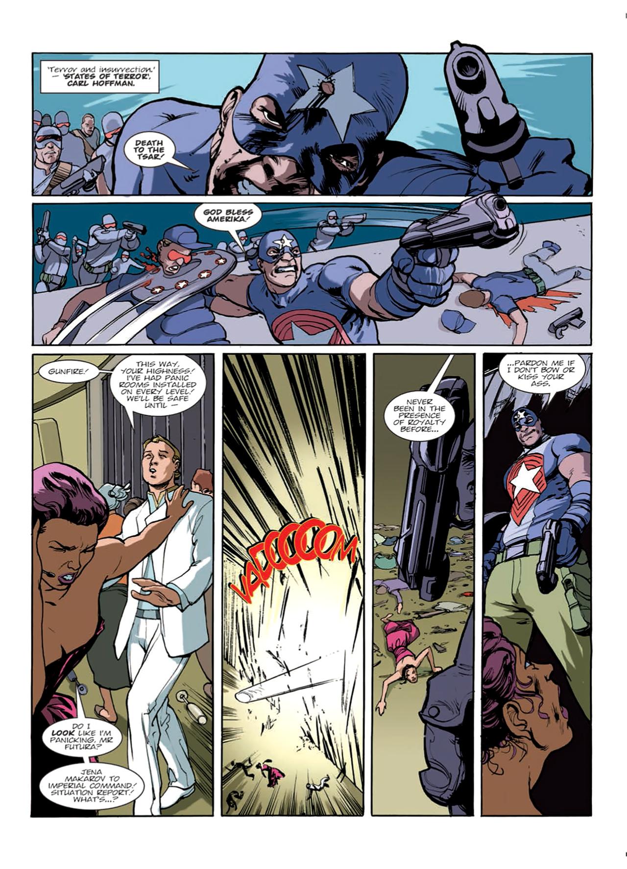 Read online Nikolai Dante comic -  Issue # TPB 9 - 25