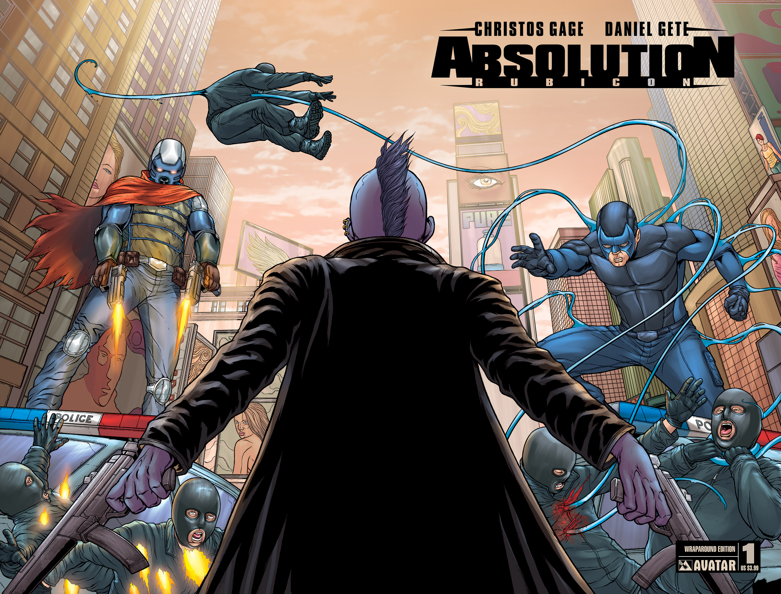 Read online Absolution: Rubicon comic -  Issue #1 - 5