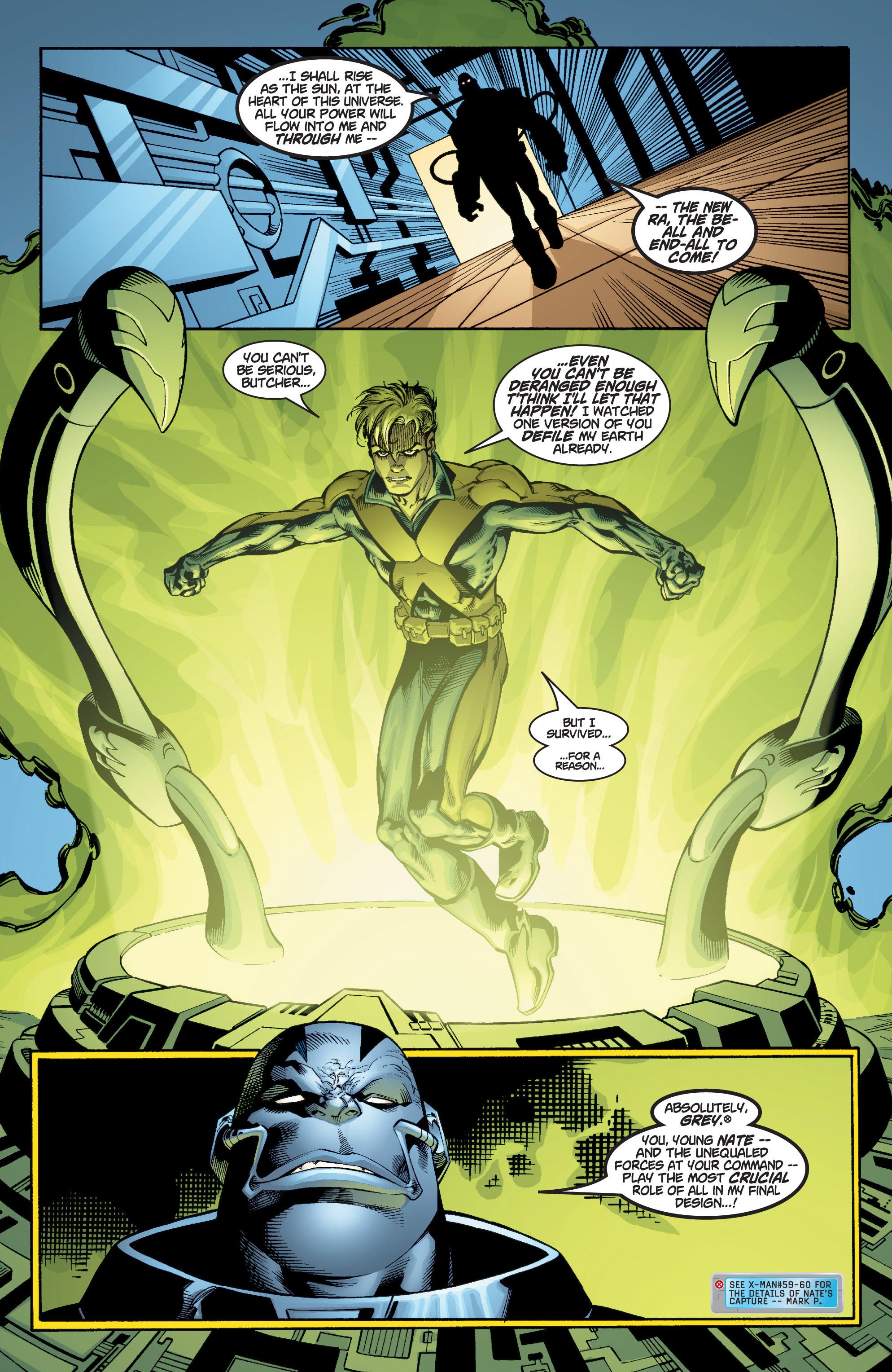 Read online Uncanny X-Men (1963) comic -  Issue #377 - 22