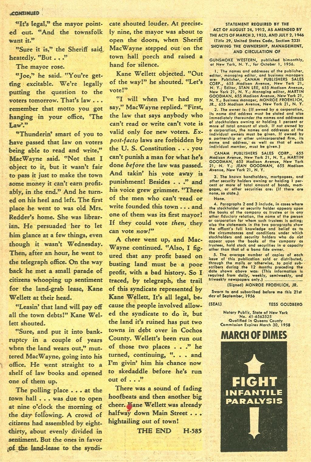 Gunsmoke Western issue 41 - Page 26