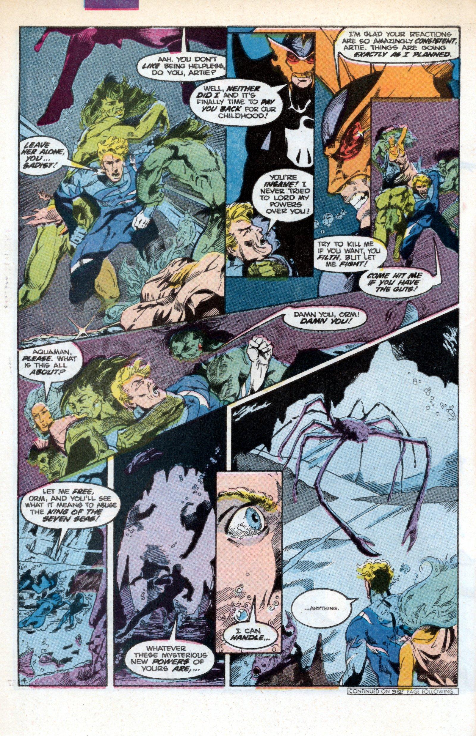 Read online Aquaman (1986) comic -  Issue #3 - 6