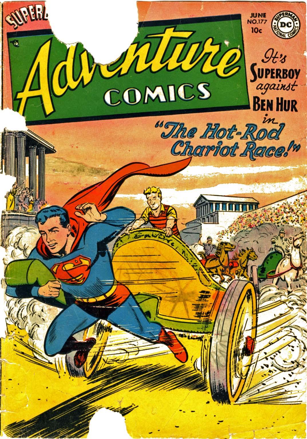 Read online Adventure Comics (1938) comic -  Issue #177 - 1
