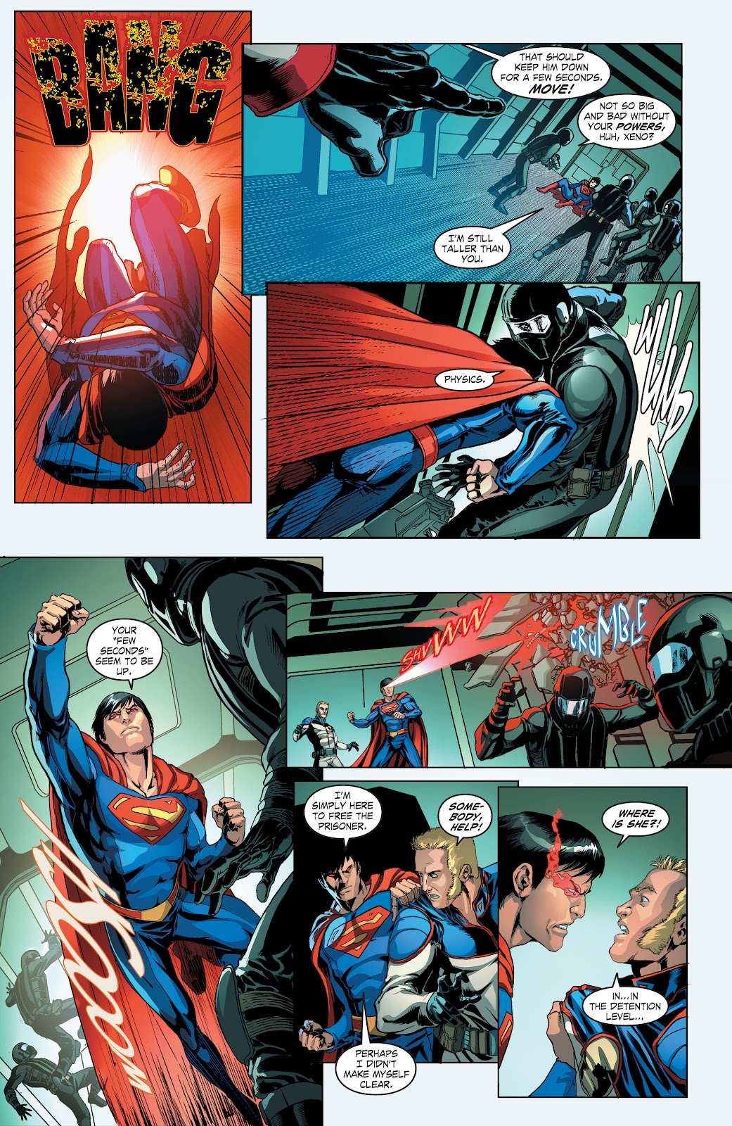Read online Smallville Season 11 [II] comic -  Issue # TPB 4 - 35
