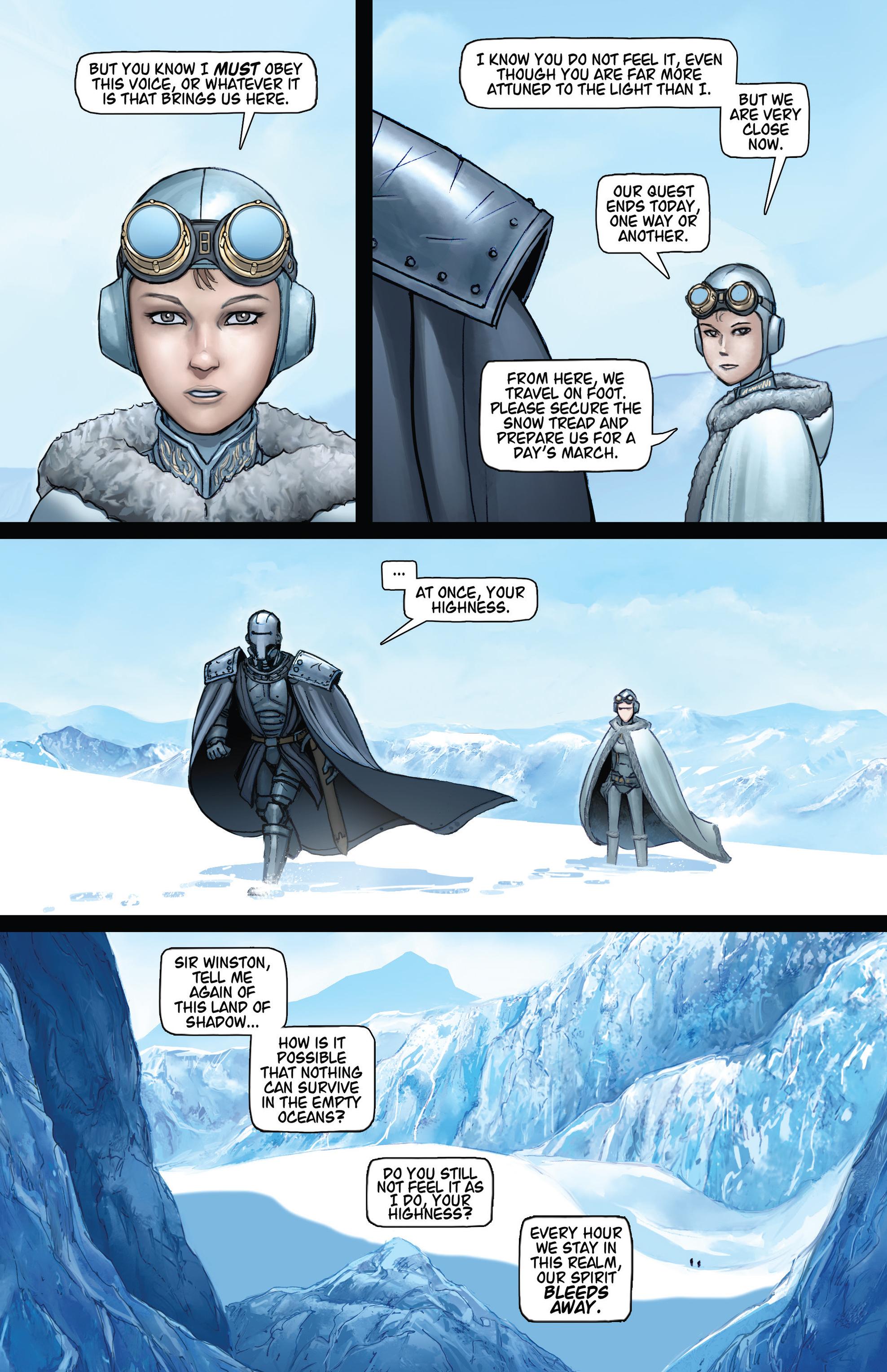 Read online Steam Wars: First Empire comic -  Issue #4 - 8