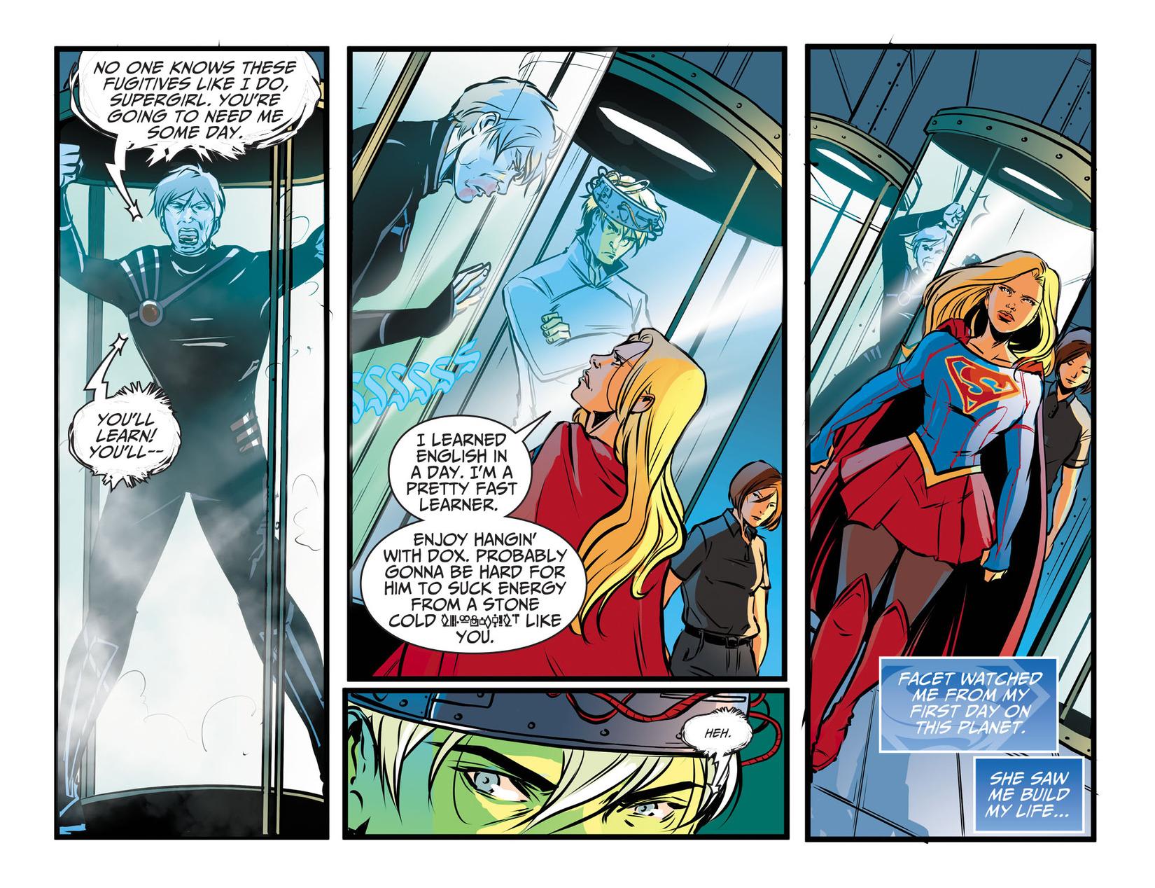 Read online Adventures of Supergirl comic -  Issue #13 - 18
