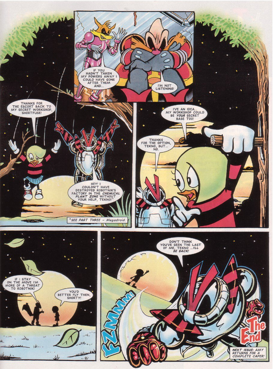Read online Sonic the Comic comic -  Issue #67 - 28