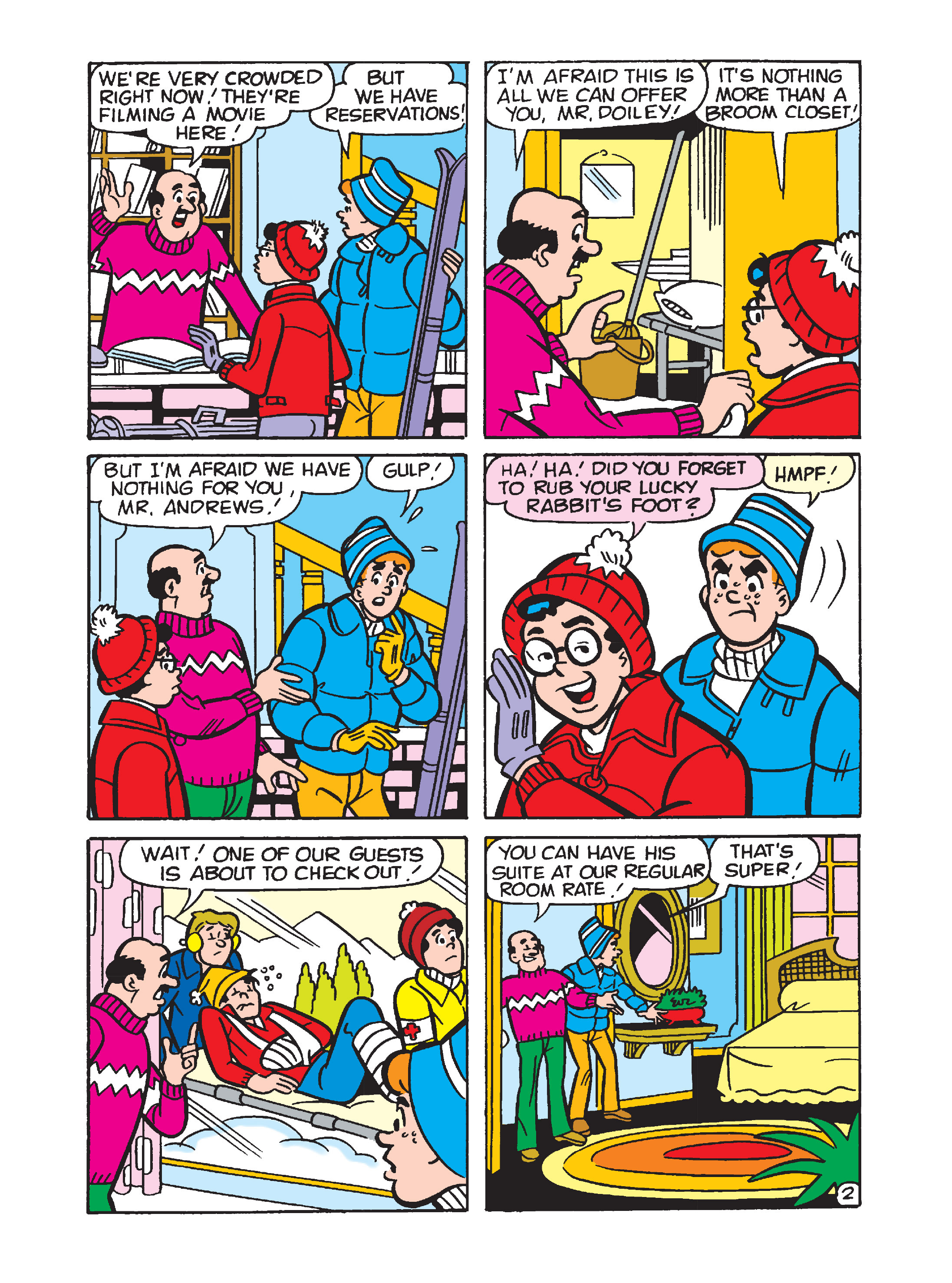 Read online Archie's Funhouse Double Digest comic -  Issue #1 - 63