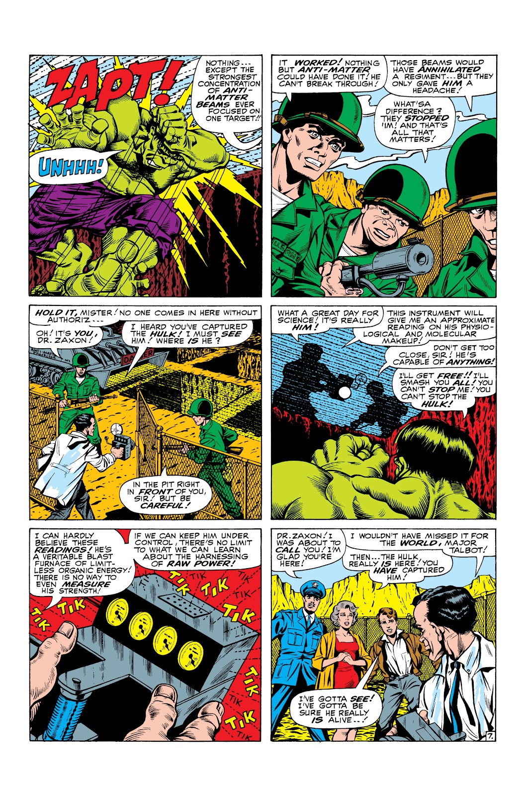 Read online Marvel Masterworks: The Incredible Hulk comic -  Issue # TPB 2 (Part 3) - 29