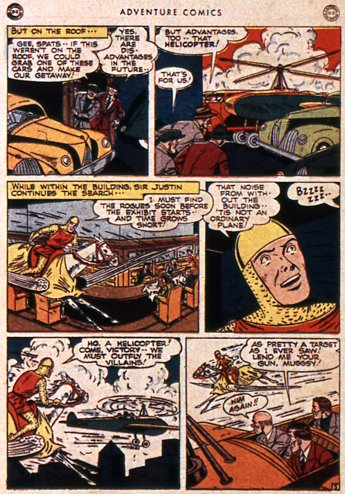 Read online Adventure Comics (1938) comic -  Issue #111 - 36