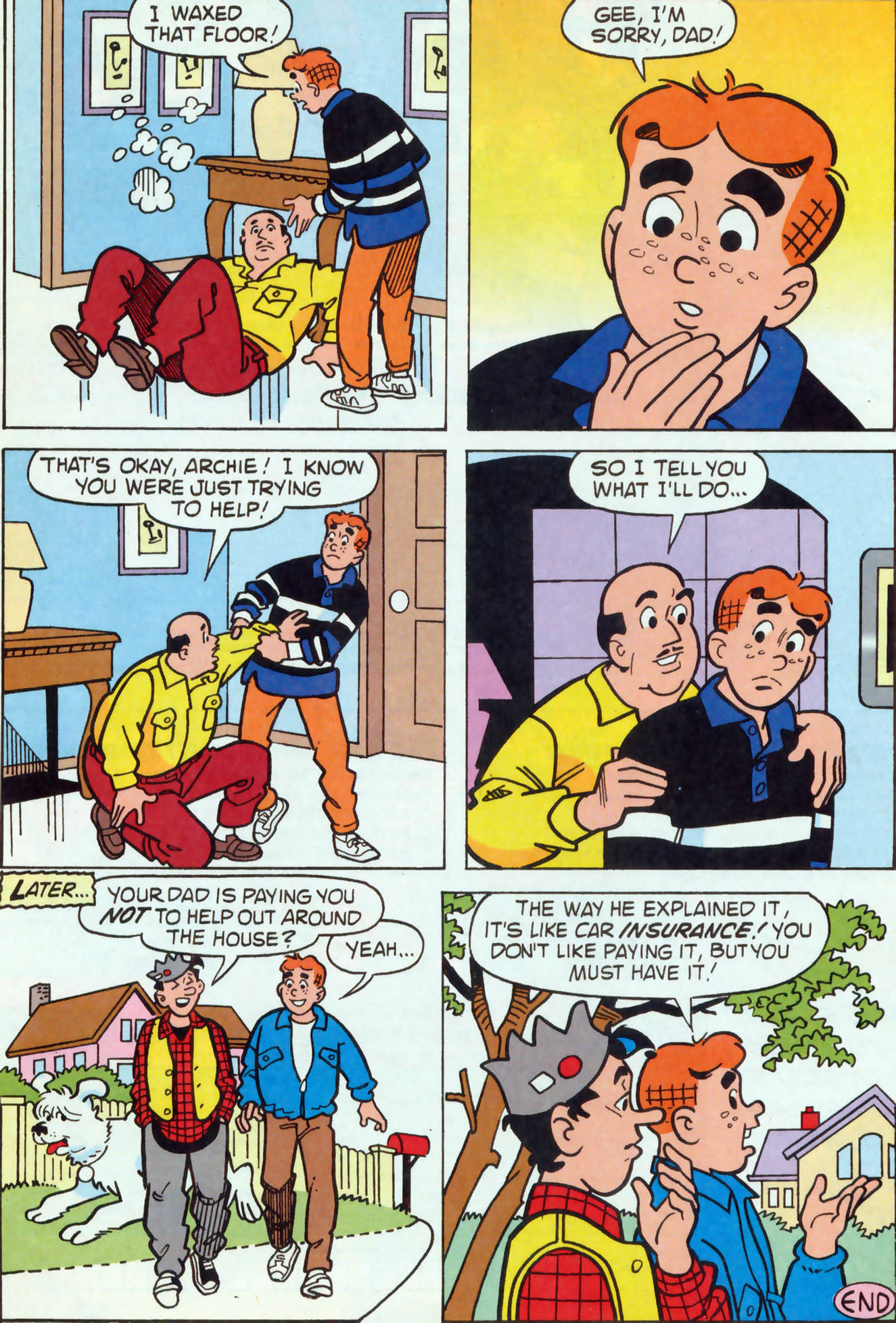 Read online Archie (1960) comic -  Issue #460 - 18