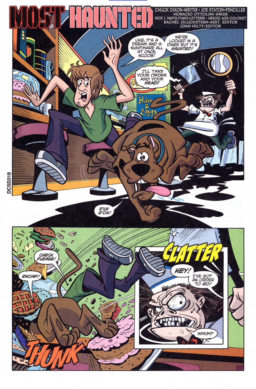 Read online Scooby-Doo (1997) comic -  Issue #98 - 2