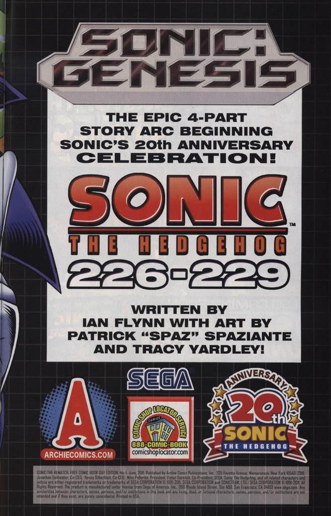 Read online Sonic the Hedgehog Free Comic Book Day Edition comic -  Issue # Special 5 - 33
