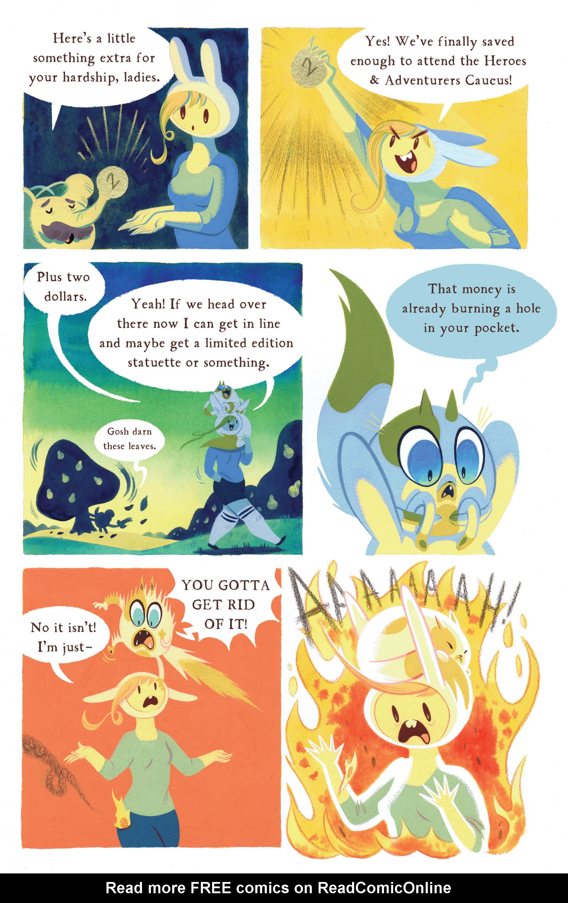 Read online Adventure Time 2013 Summer Special comic -  Issue #Adventure Time 2013 Summer Special Full - 29