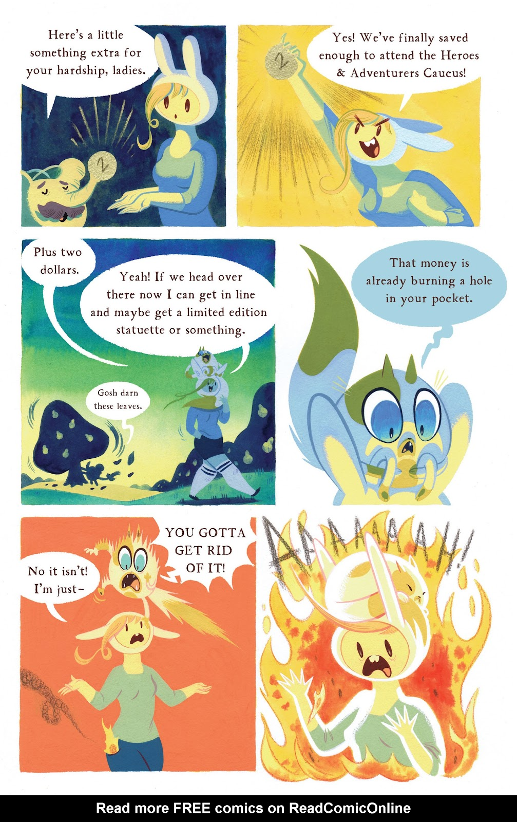 Adventure Time 2013 Summer Special issue Full - Page 29