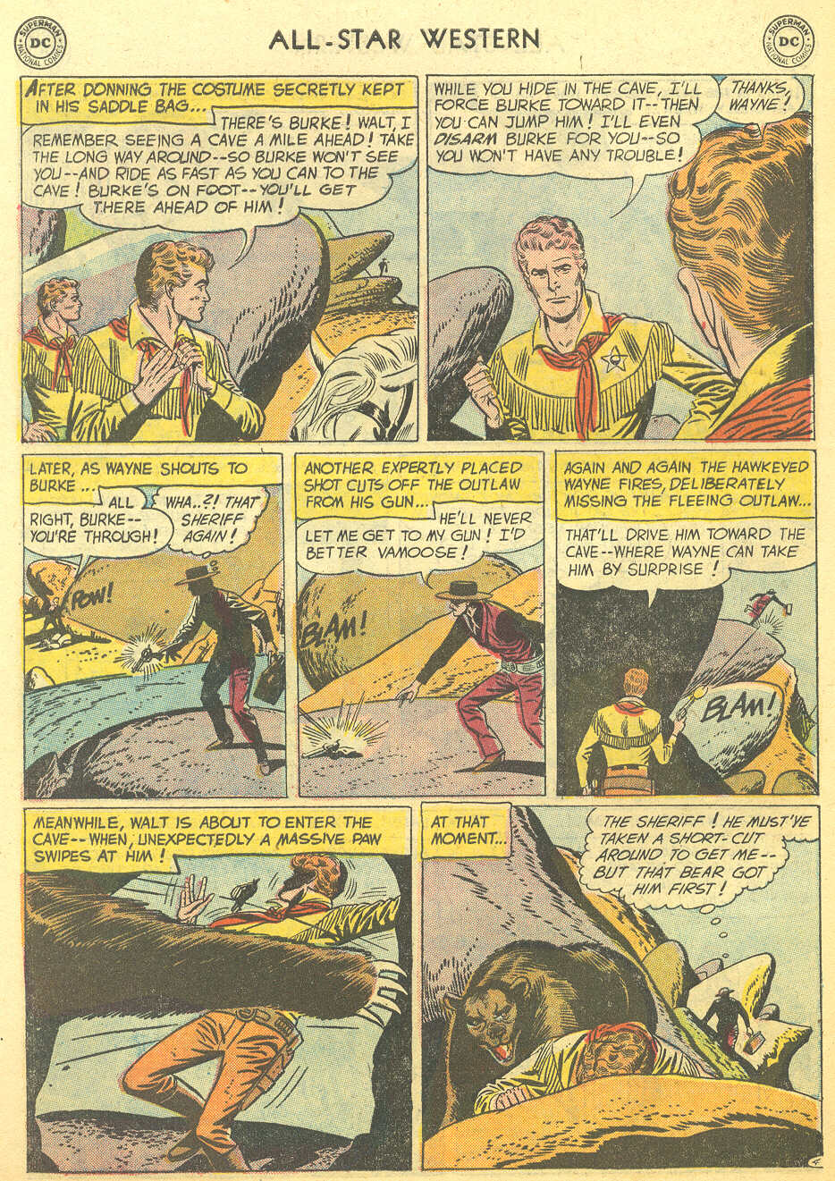 Read online All-Star Western (1951) comic -  Issue #95 - 6