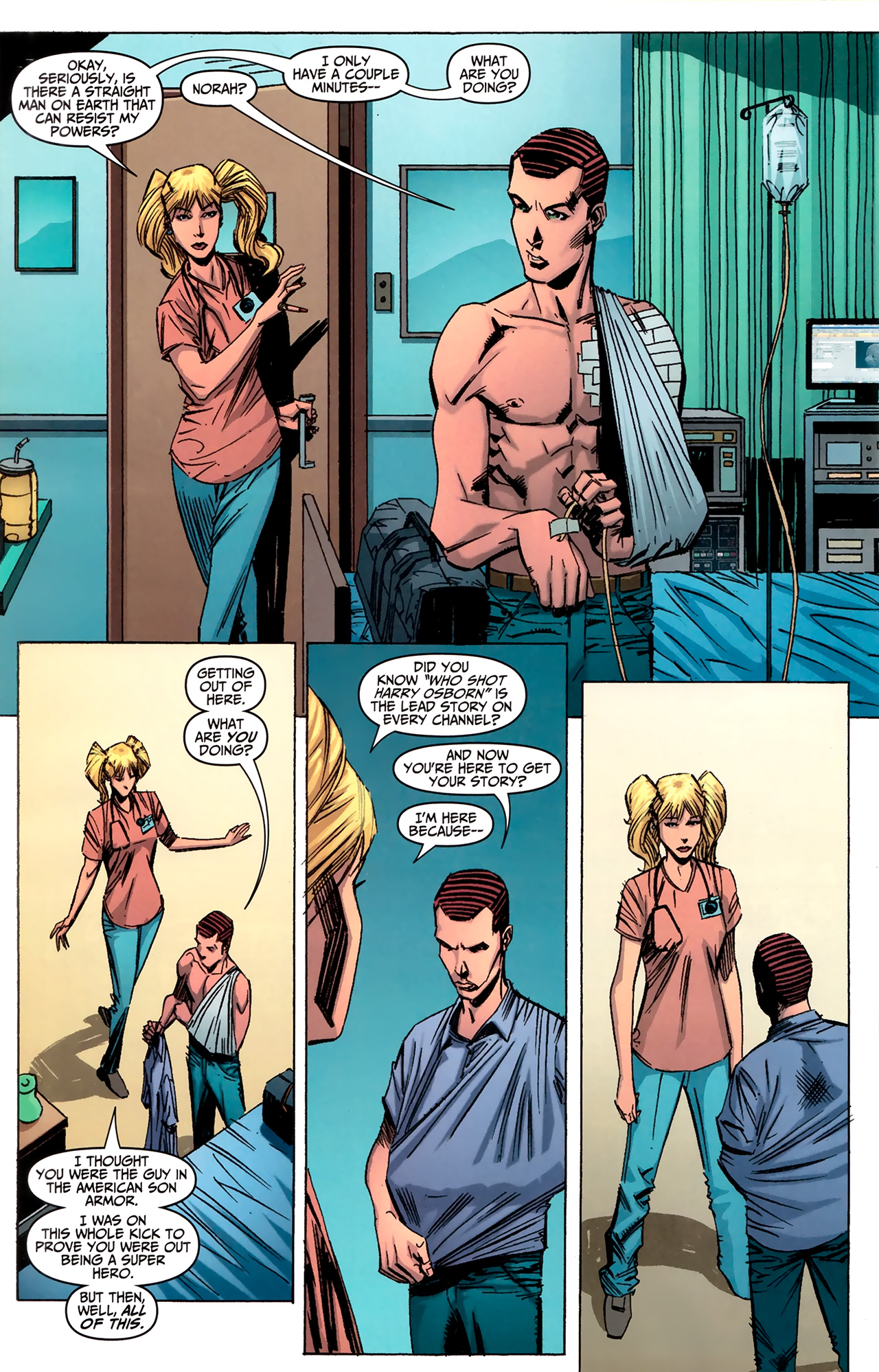 Read online Amazing Spider-Man Presents: American Son comic -  Issue #2 - 12