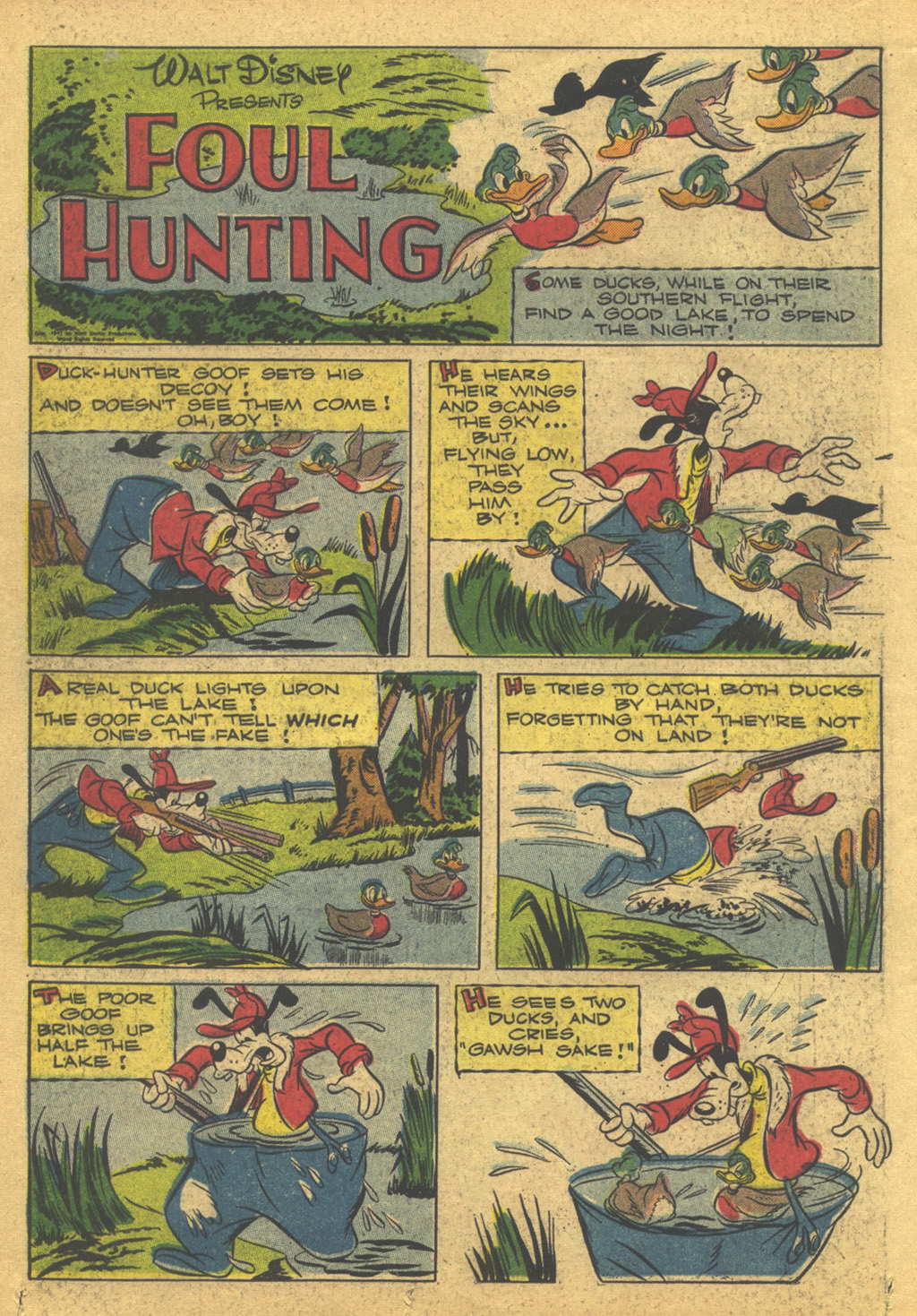 Walt Disney's Comics and Stories issue 86 - Page 36