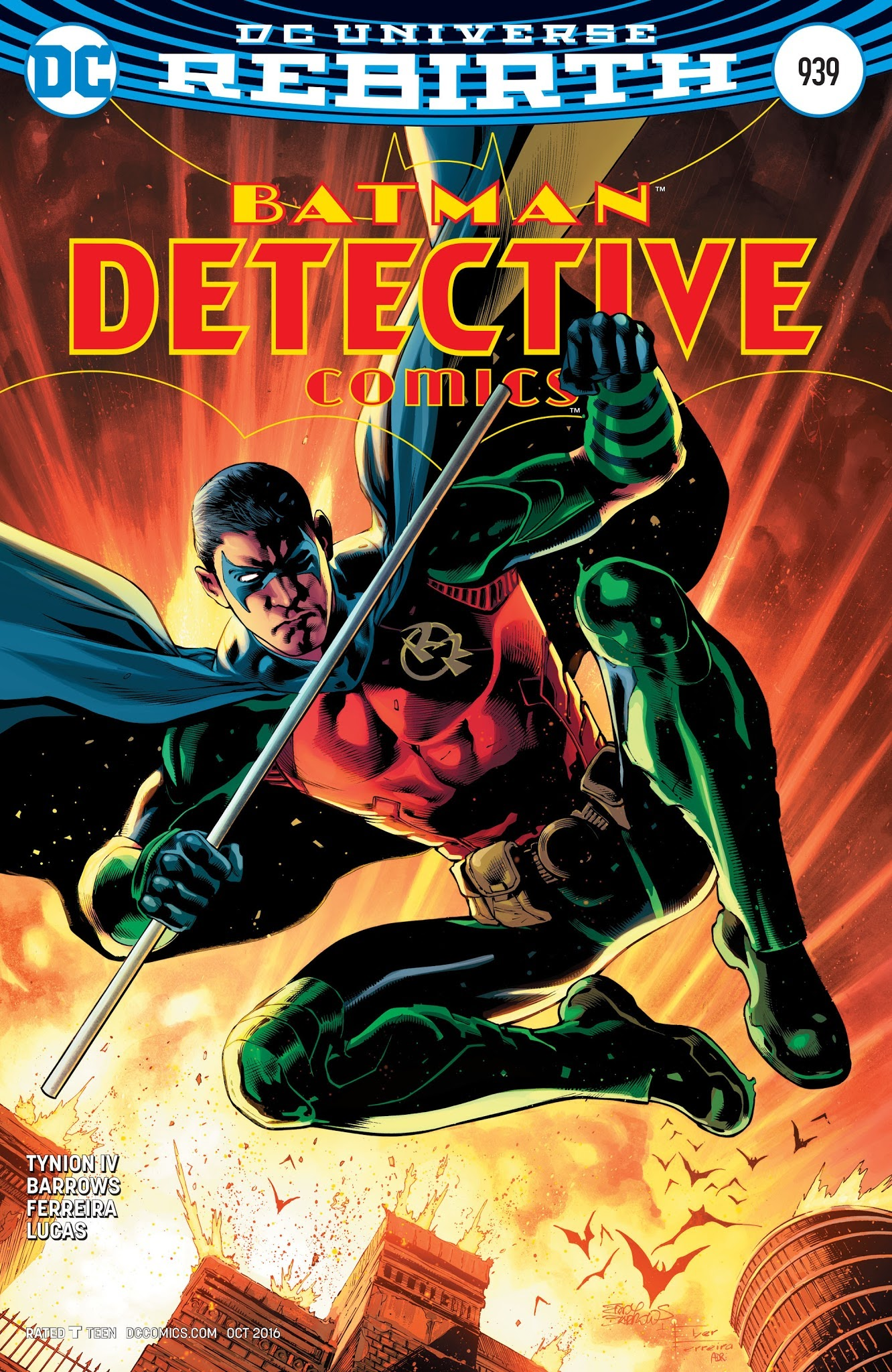 Detective Comics (1937) 939 Page 1