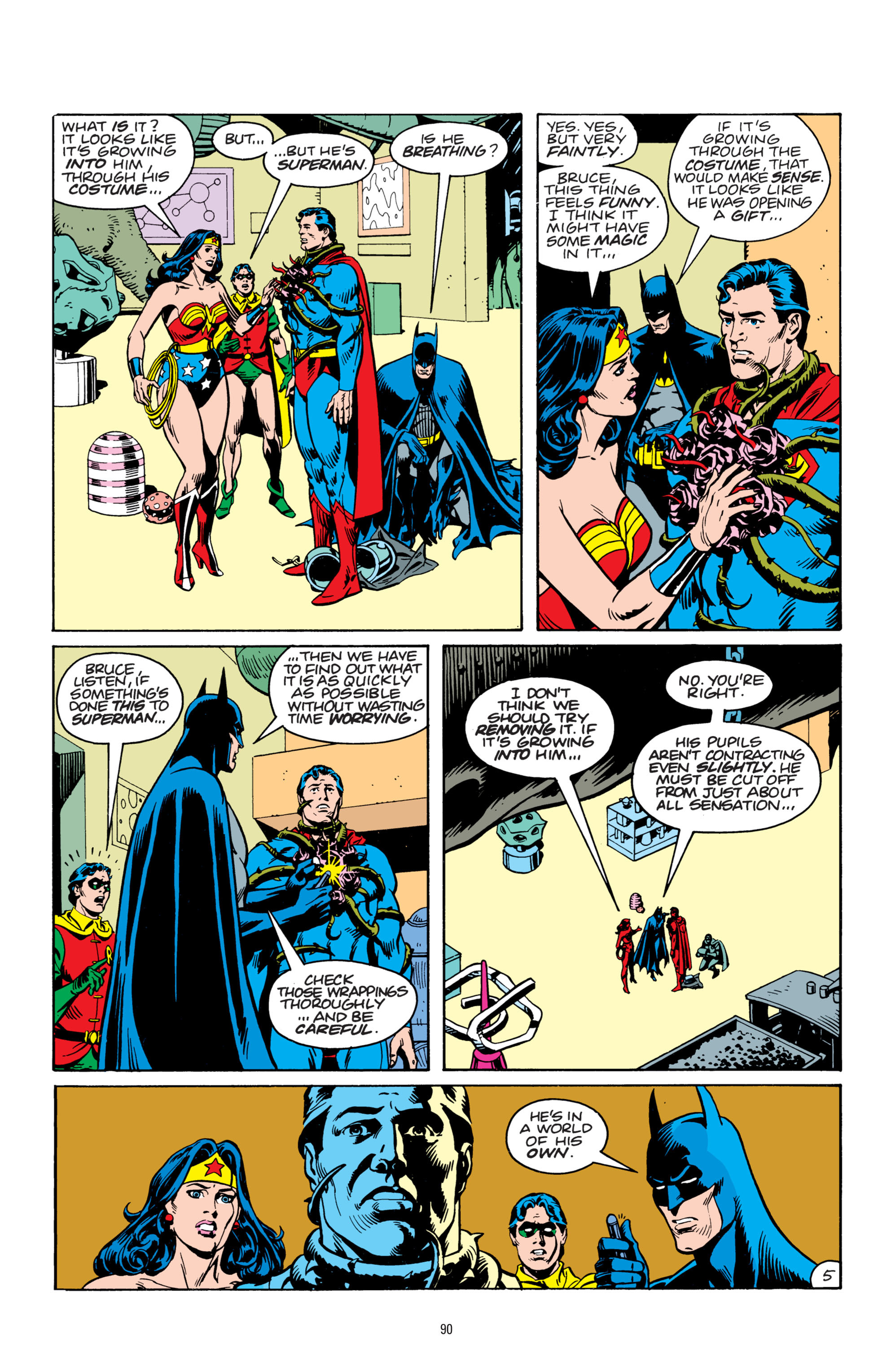 Read online Superman: Whatever Happened to the Man of Tomorrow? comic -  Issue # TPB - 89
