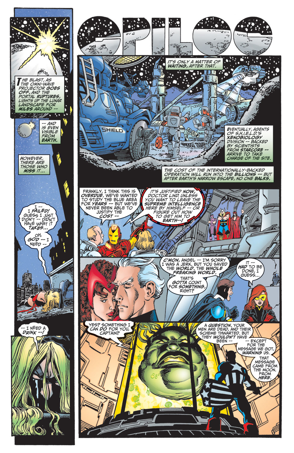 Read online Avengers (1998) comic -  Issue #7 - 21