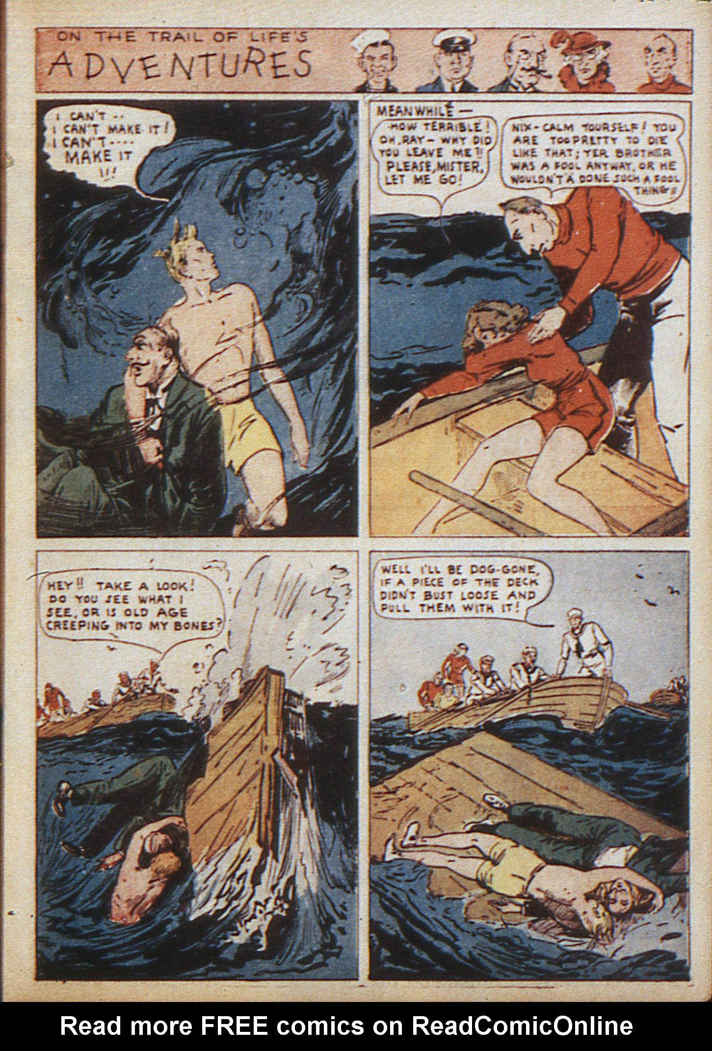 Read online Adventure Comics (1938) comic -  Issue #10 - 14