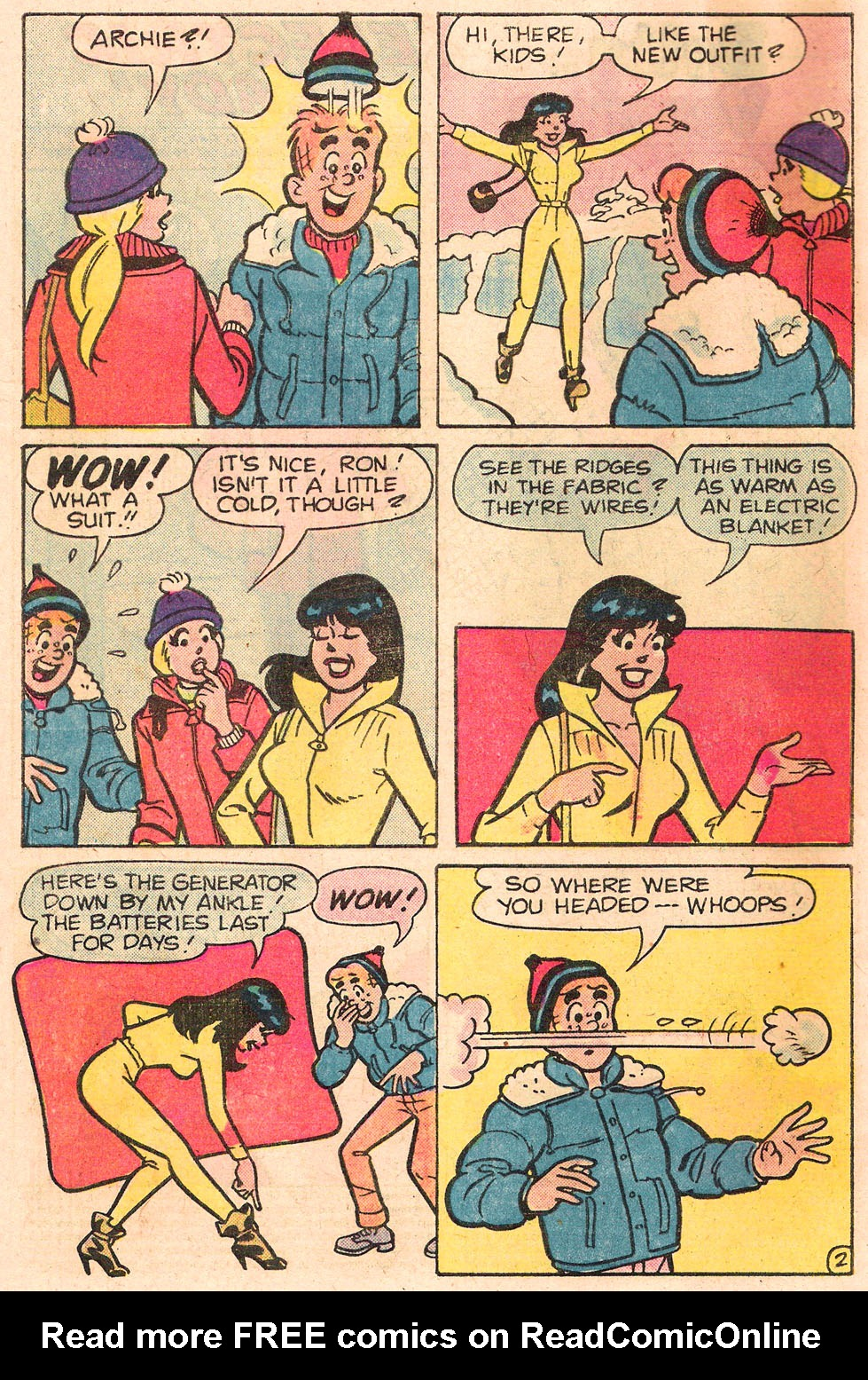 Read online Archie's Girls Betty and Veronica comic -  Issue #303 - 4