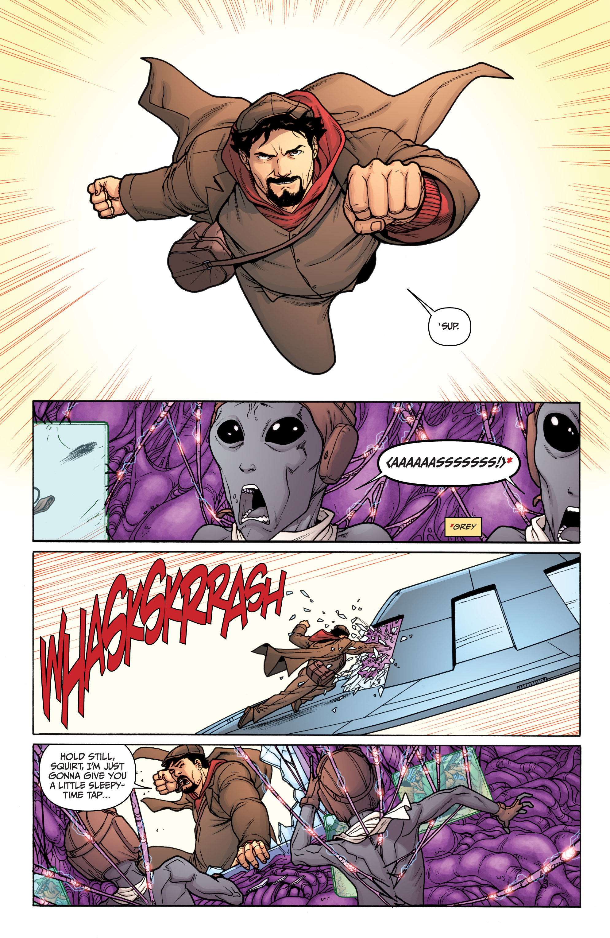 Read online Archer and Armstrong comic -  Issue #12 - 12