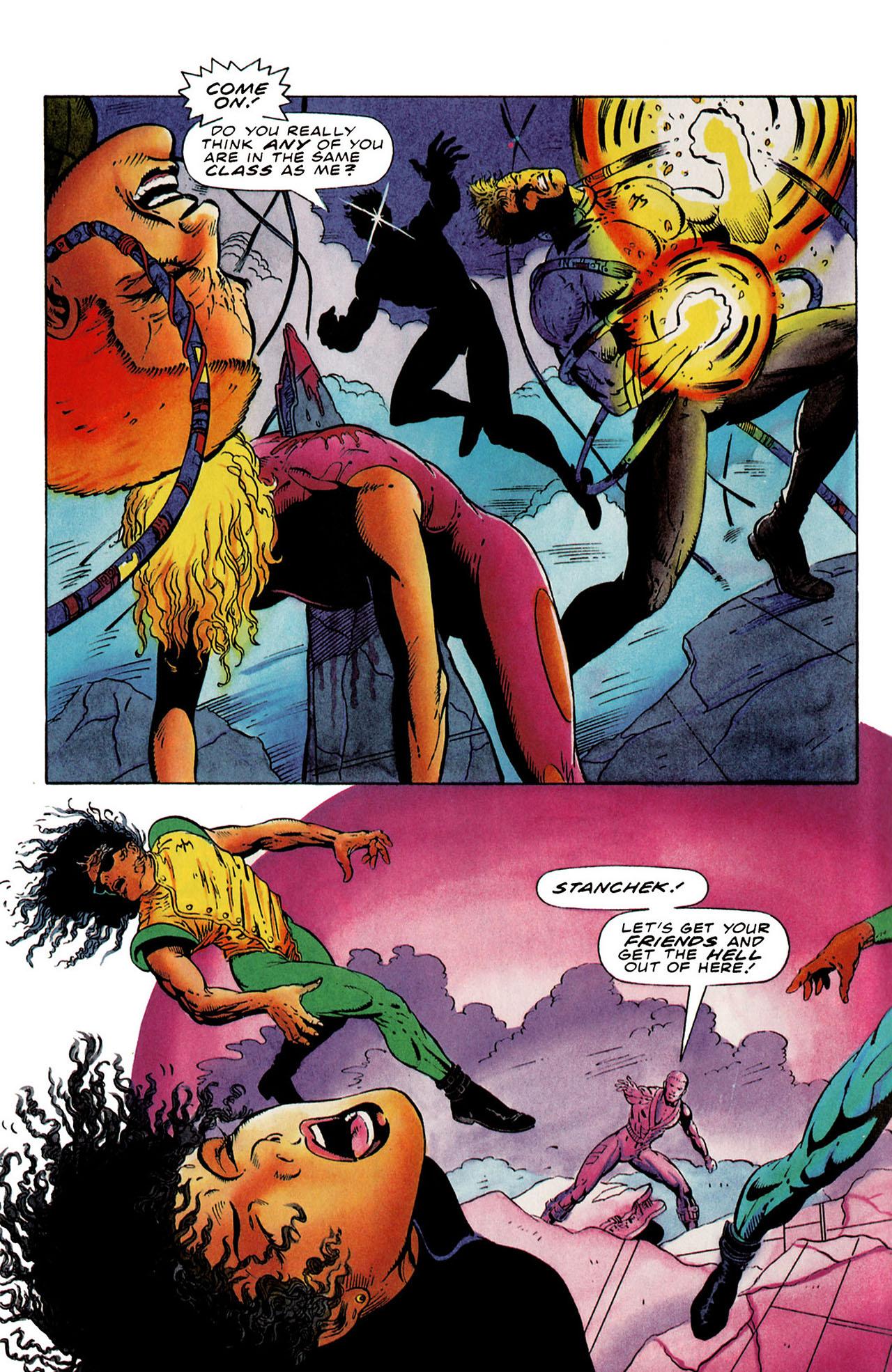 Read online Harbinger (1992) comic -  Issue #25 - 5