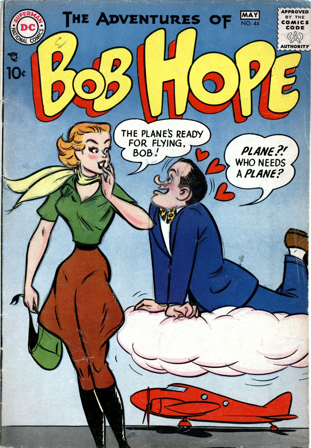 The Adventures of Bob Hope issue 44 - Page 1