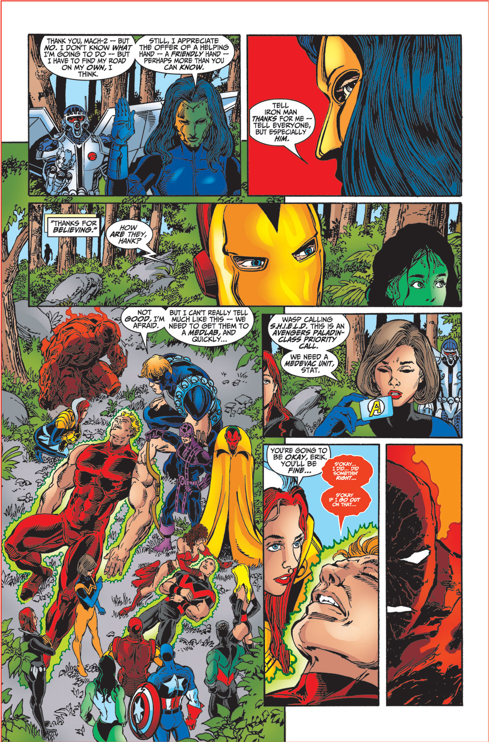 Read online Avengers (1998) comic -  Issue #34 - 36