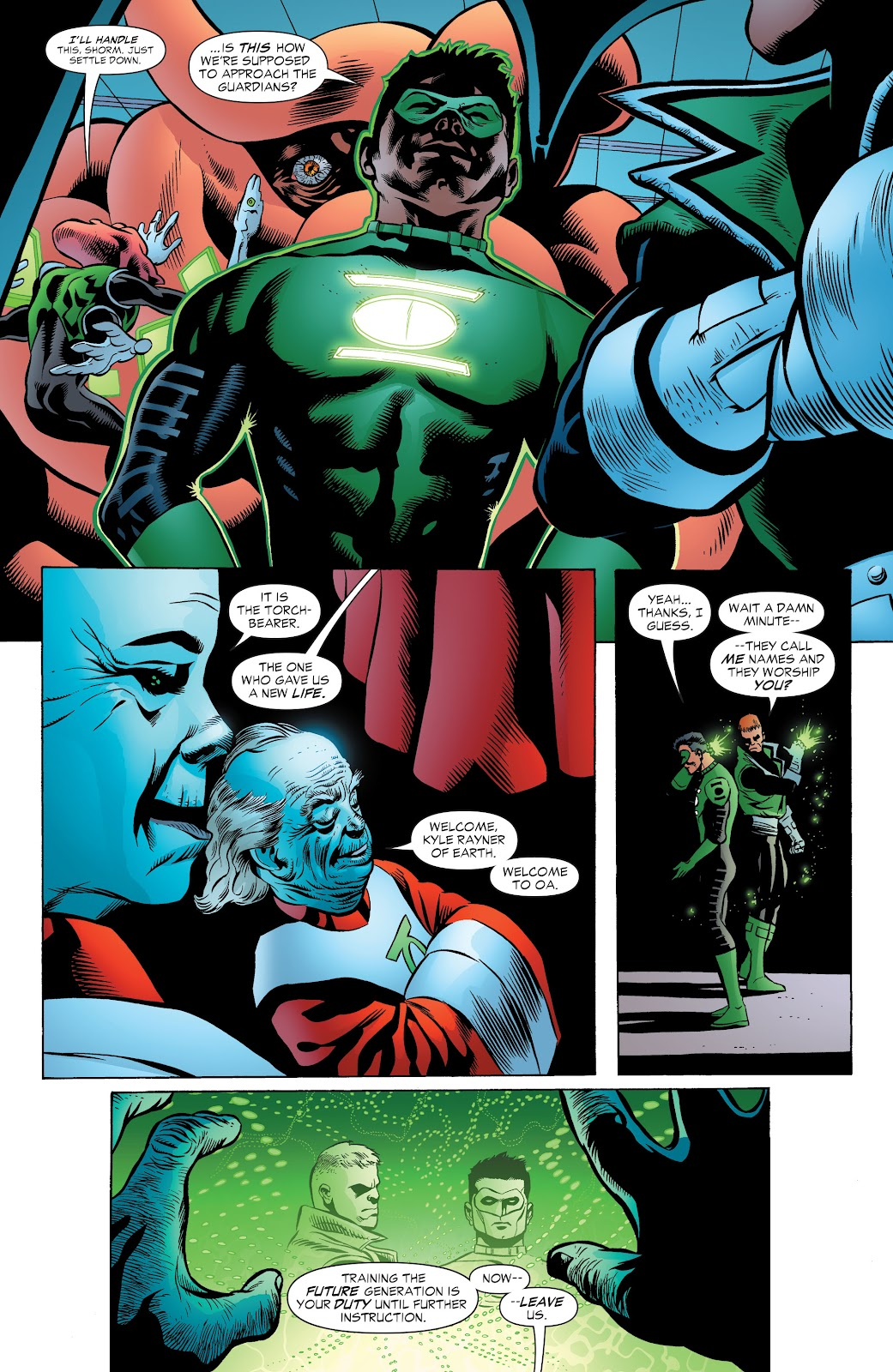Read online Green Lantern by Geoff Johns comic -  Issue # TPB 1 (Part 2) - 99